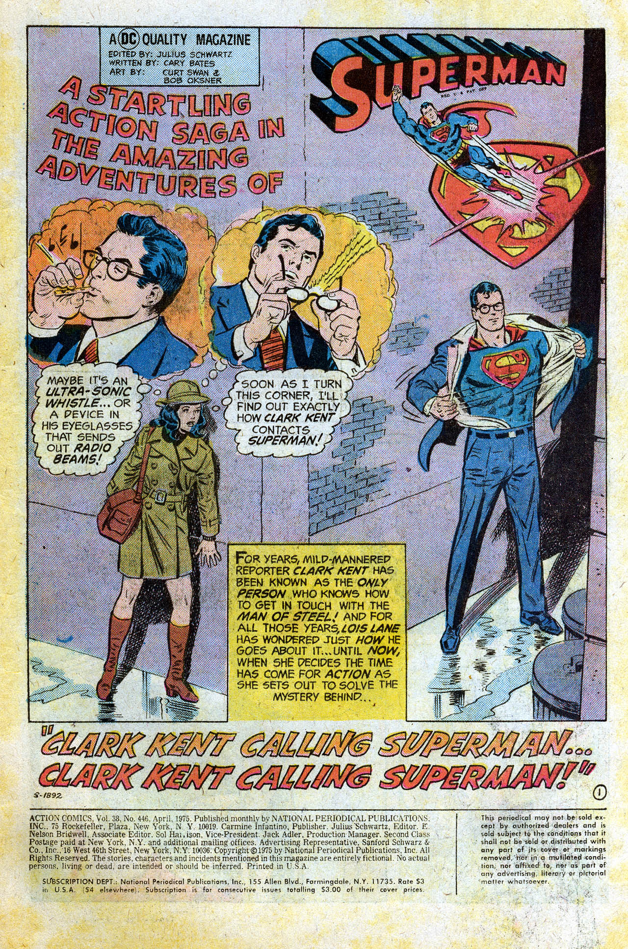 Read online Action Comics (1938) comic -  Issue #446 - 3