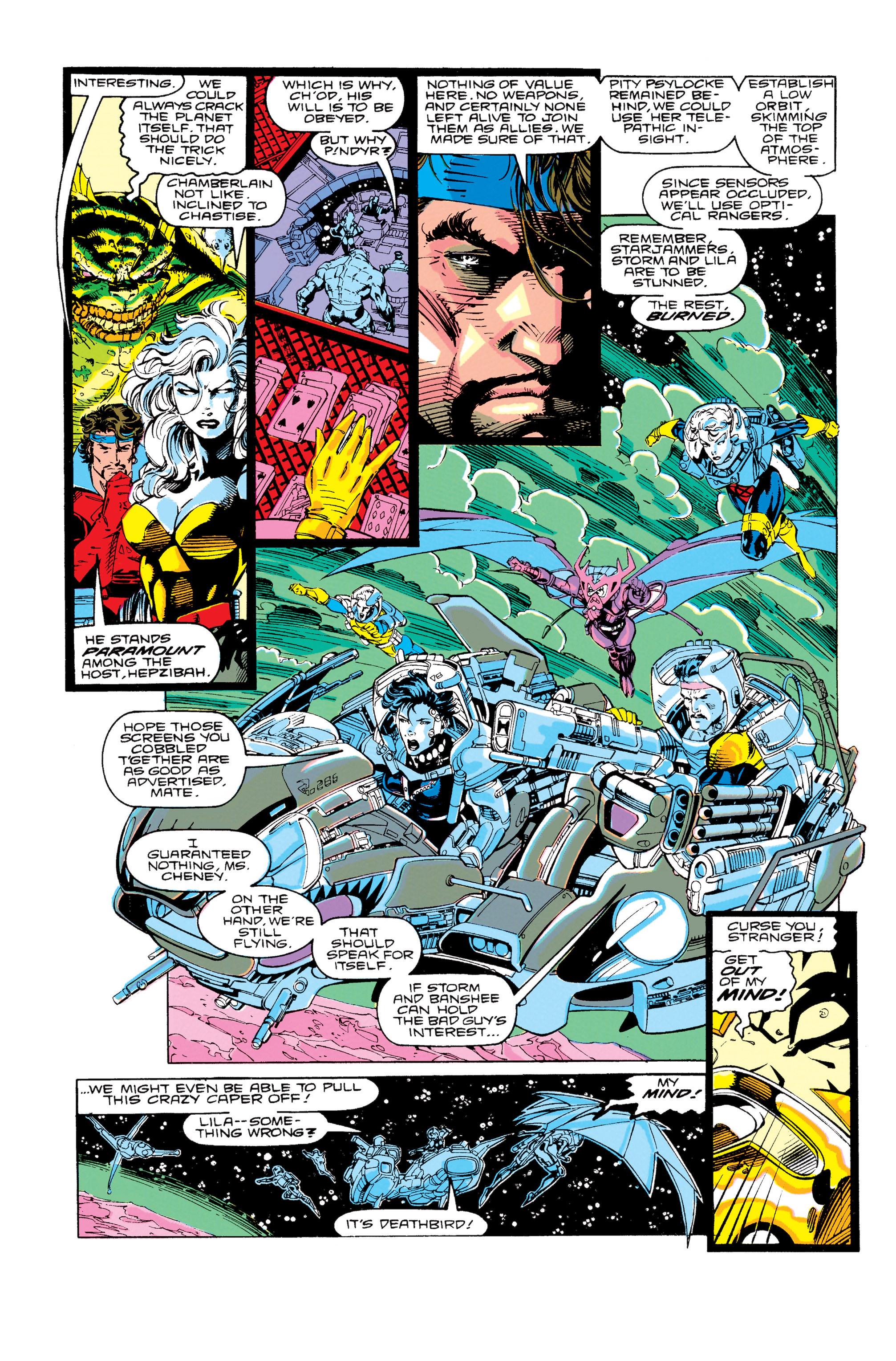 Read online Uncanny X-Men (1963) comic -  Issue #276 - 19