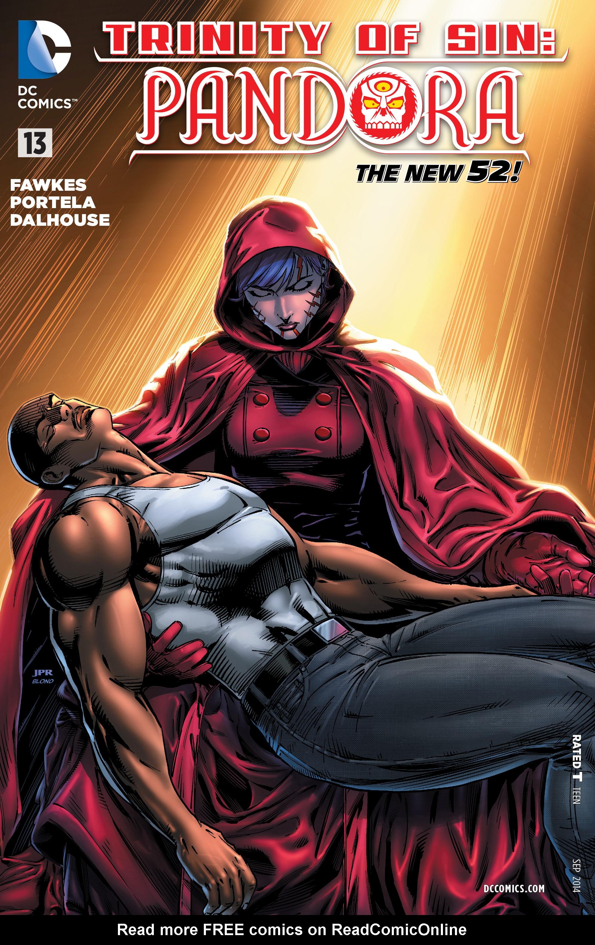 Read online Trinity of Sin: Pandora comic -  Issue #13 - 1