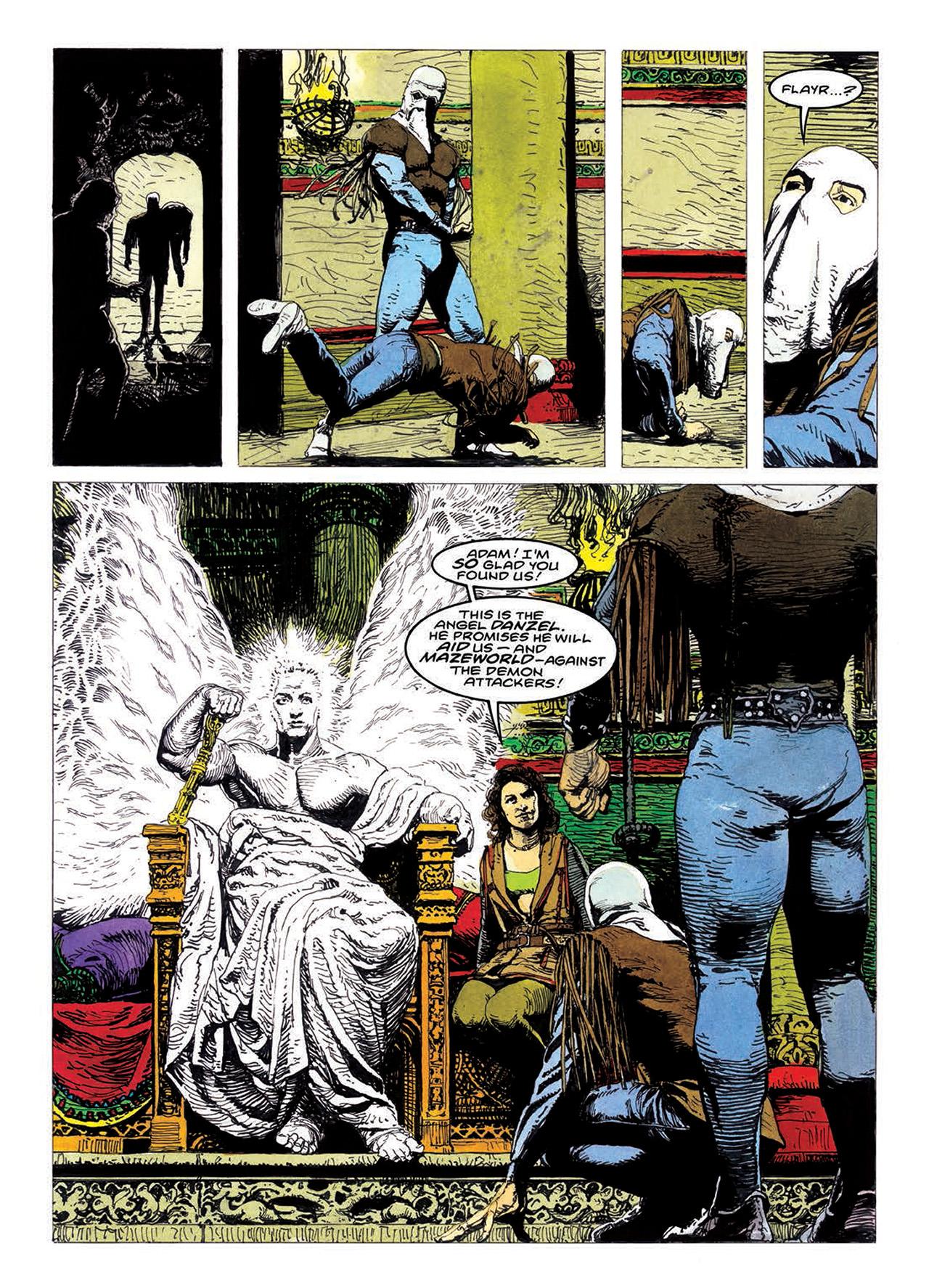 Read online Mazeworld comic -  Issue # TPB - 172