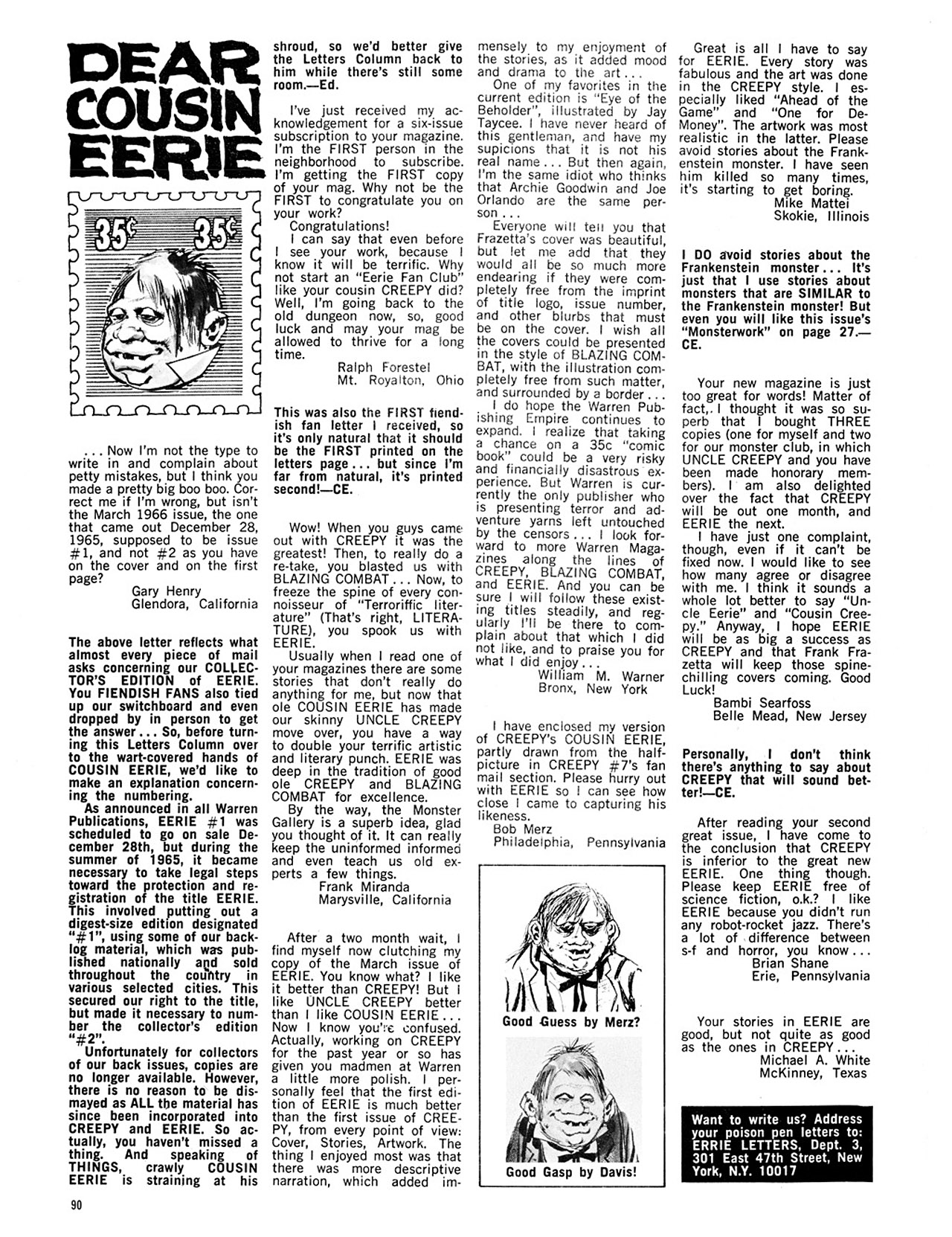 Read online Eerie Archives comic -  Issue # TPB 1 - 91