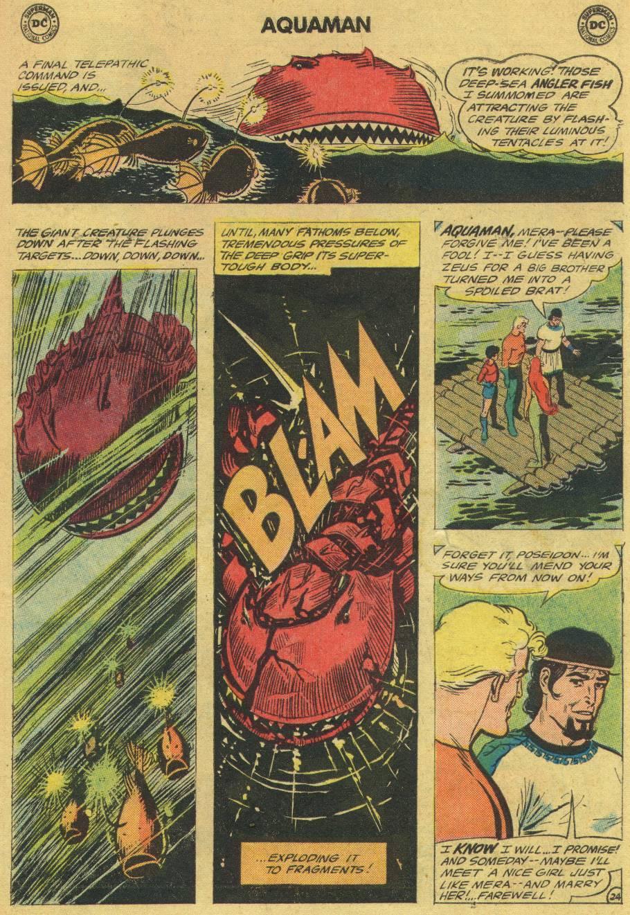Read online Aquaman (1962) comic -  Issue #17 - 31