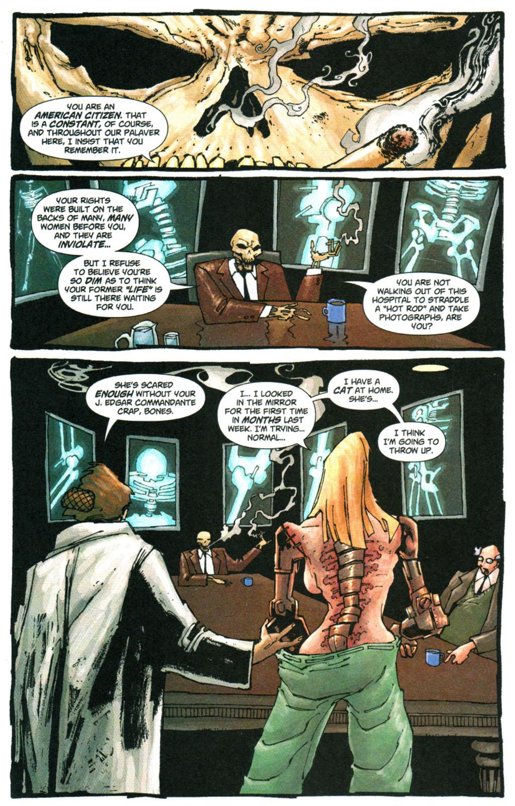 Read online Enginehead comic -  Issue #5 - 6