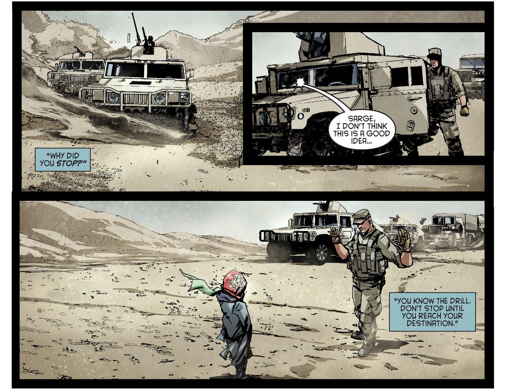 Read online Arrow [II] comic -  Issue #4 - 6