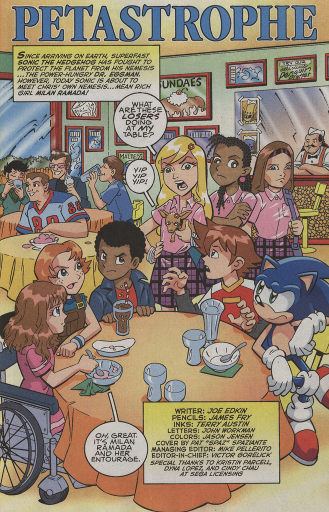Read online Sonic X comic -  Issue #36 - 3