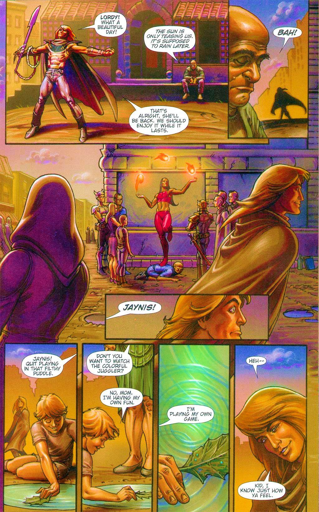 Read online Dawn: Three Tiers comic -  Issue #6 - 17