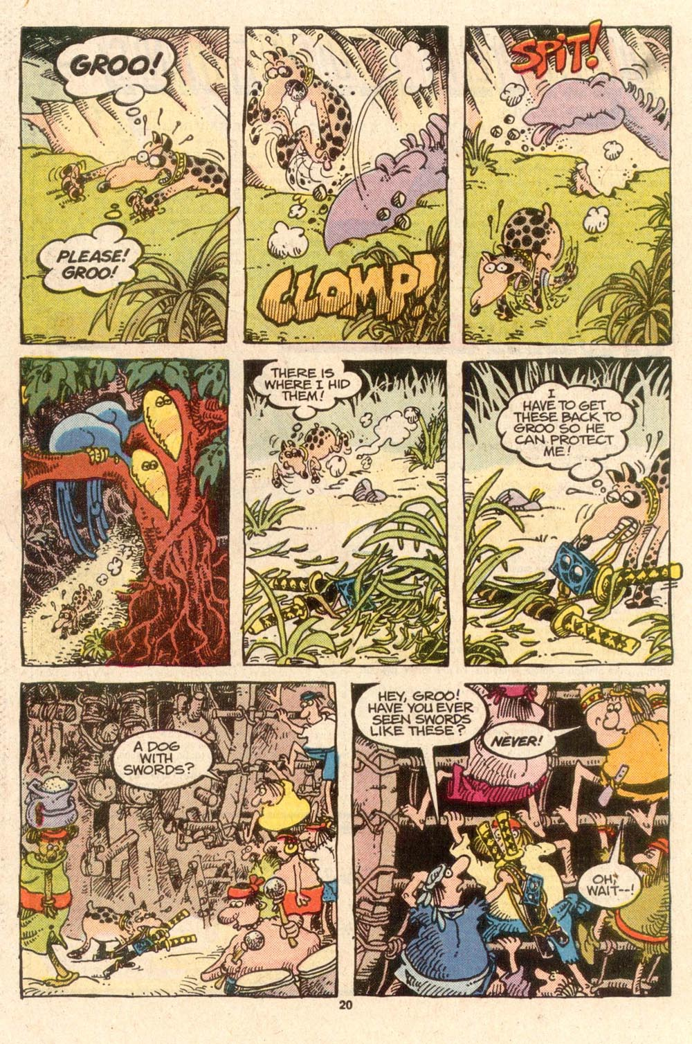 Read online Sergio Aragonés Groo the Wanderer comic -  Issue #45 - 21