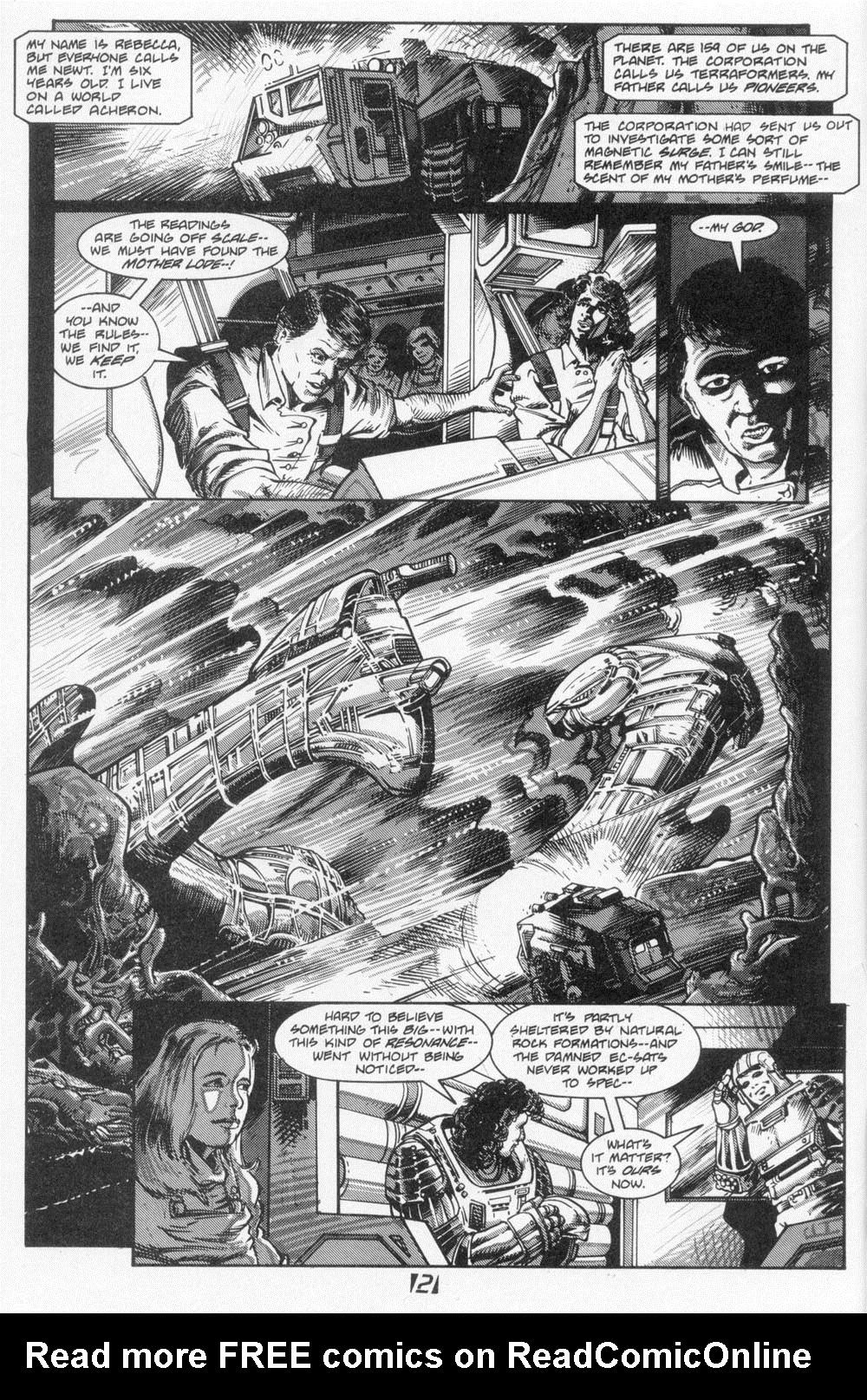 Read online Aliens (1988) comic -  Issue #6 - 4