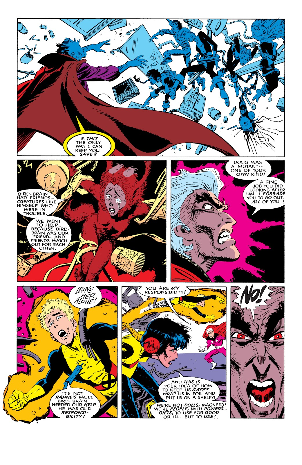 Read online X-Men Milestones: Fall of the Mutants comic -  Issue # TPB (Part 2) - 74