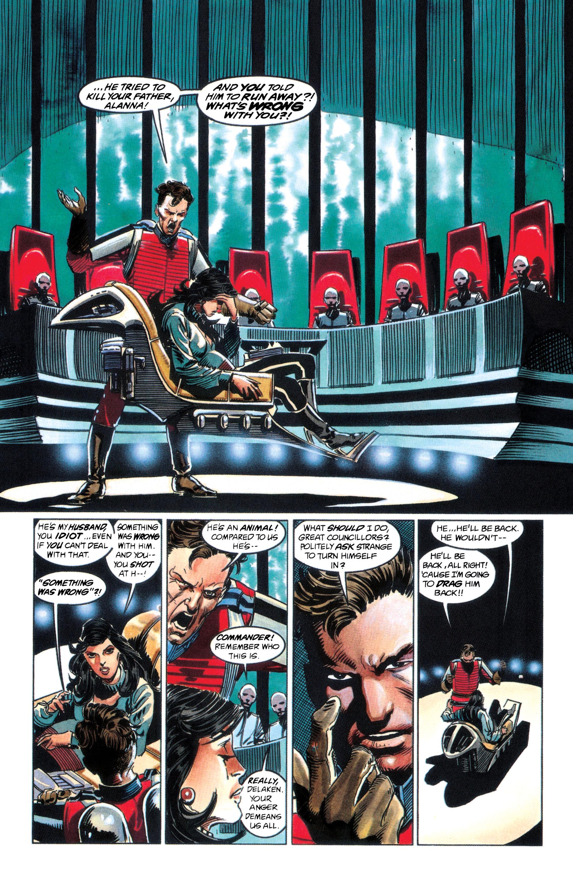 Read online Adam Strange (1990) comic -  Issue #2 - 4