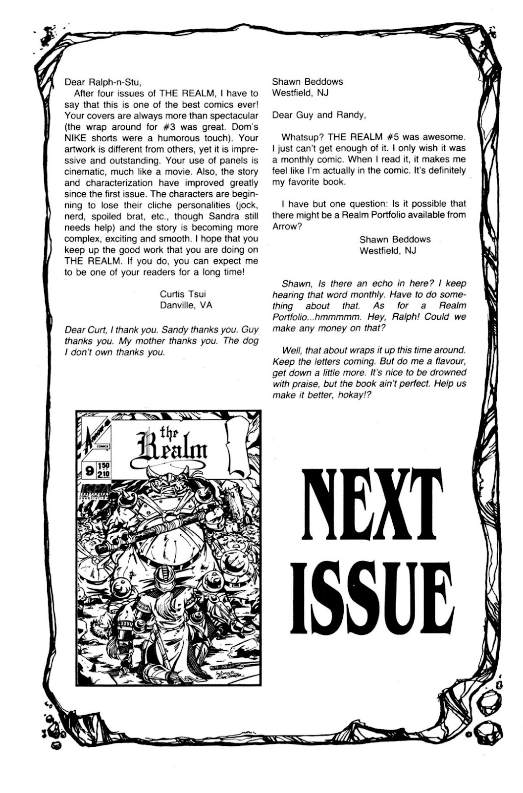 The Realm (1986) issue 8 - Page 34