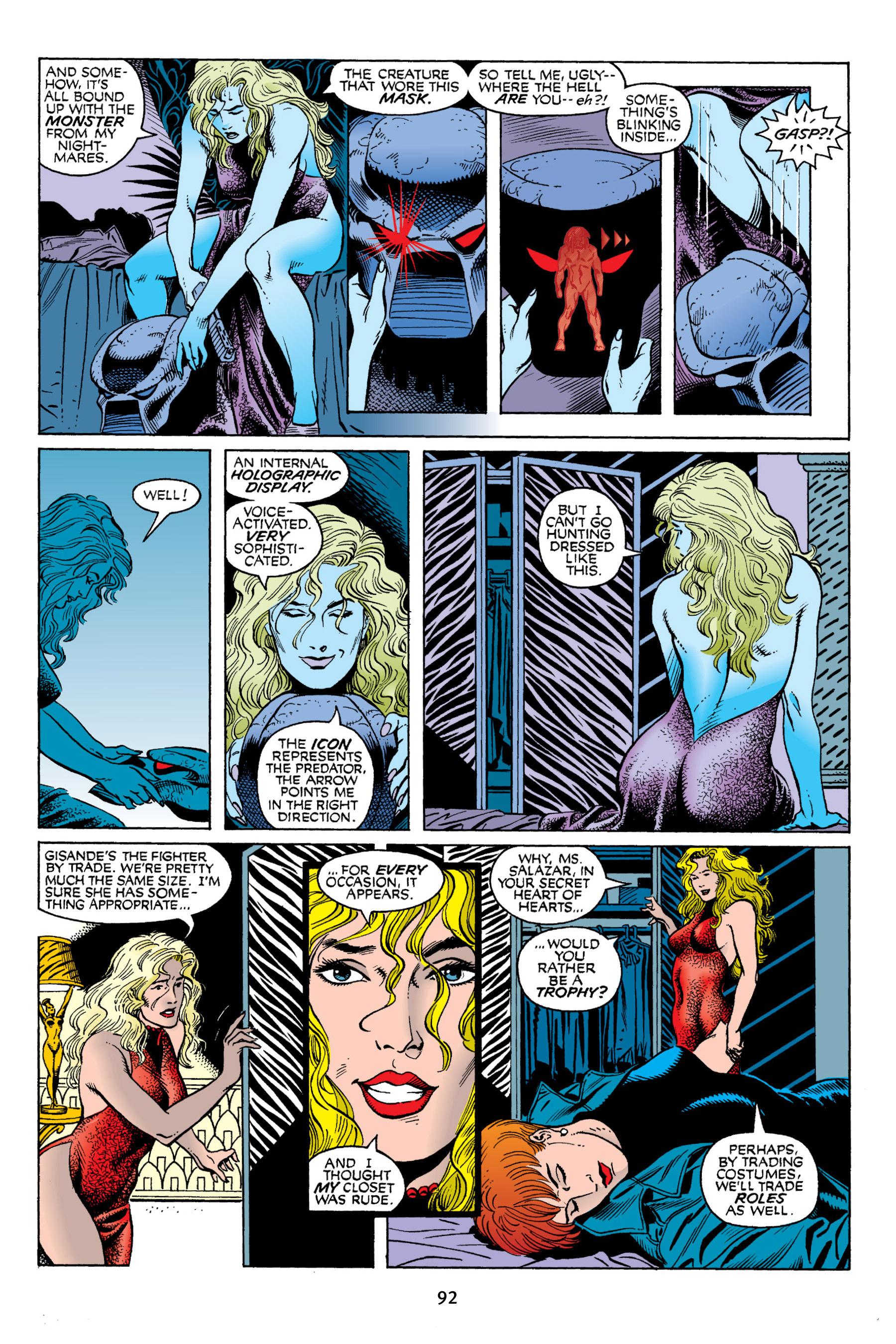 Read online Aliens vs. Predator Omnibus comic -  Issue # _TPB 2 Part 1 - 91
