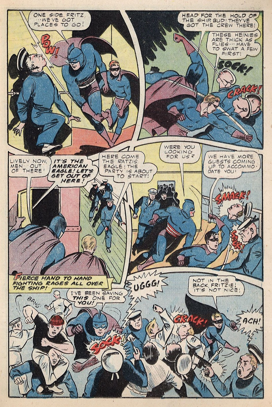 Exciting Comics (1940) issue 38 - Page 21