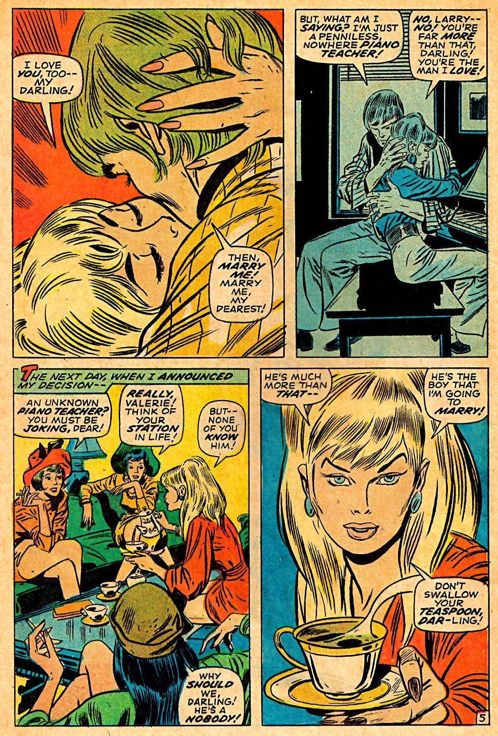My Love (1969) issue 7 - Page 8