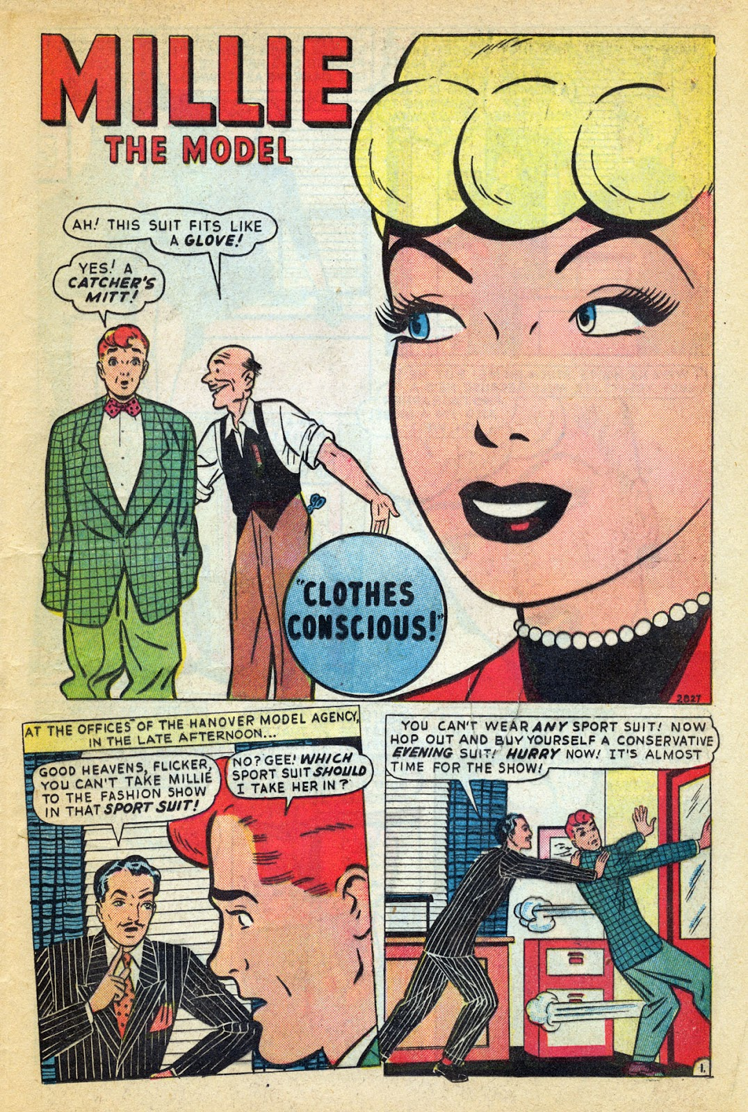 Read online Millie the Model comic -  Issue #14 - 29