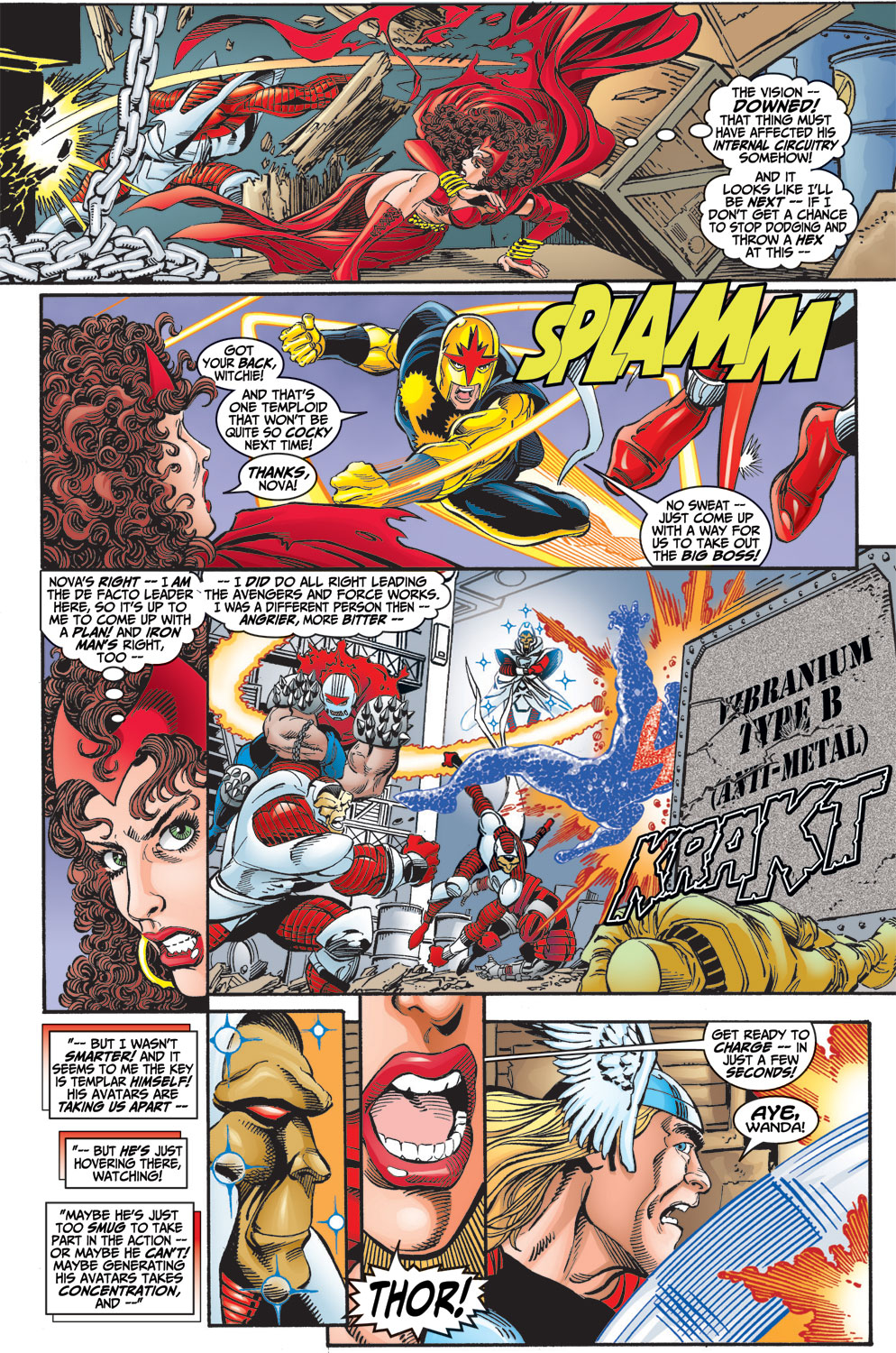 Read online Avengers (1998) comic -  Issue #13 - 19