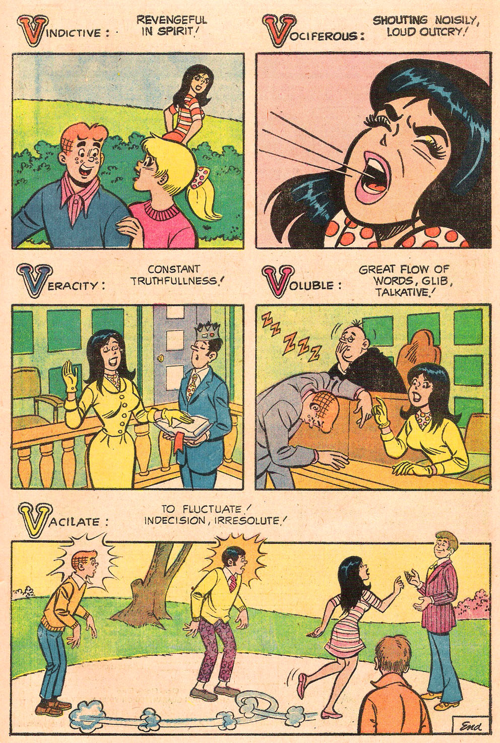 Read online Archie's Girls Betty and Veronica comic -  Issue #189 - 27