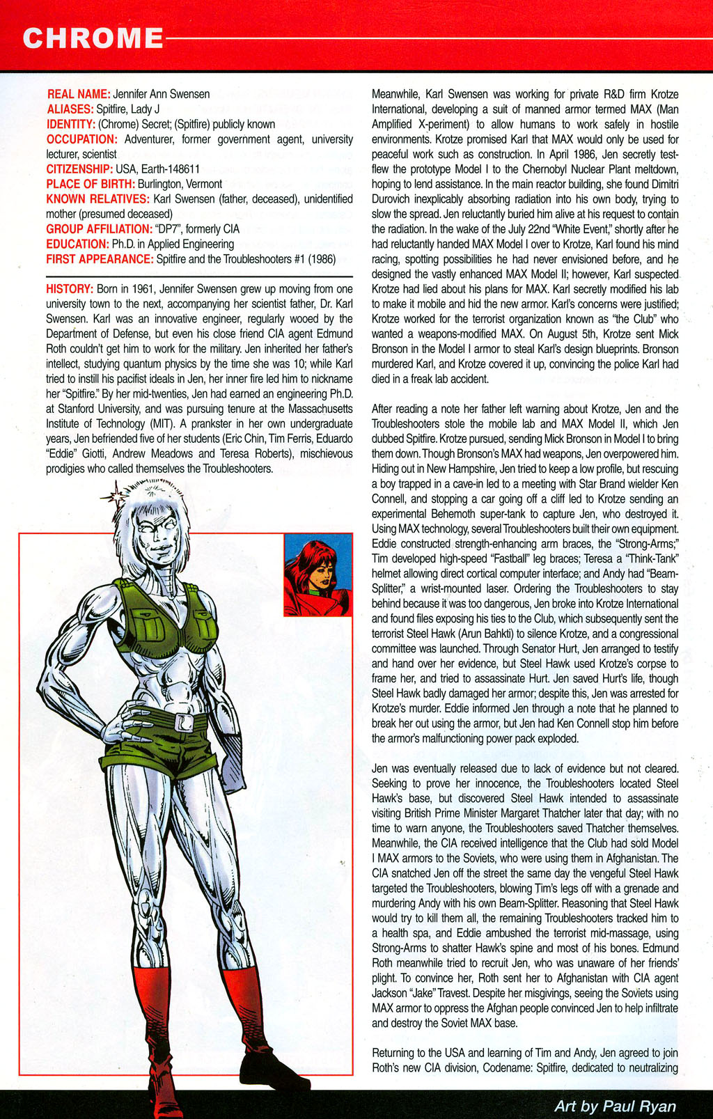 Read online All-New Official Handbook of the Marvel Universe A to Z: Update comic -  Issue #3 - 10