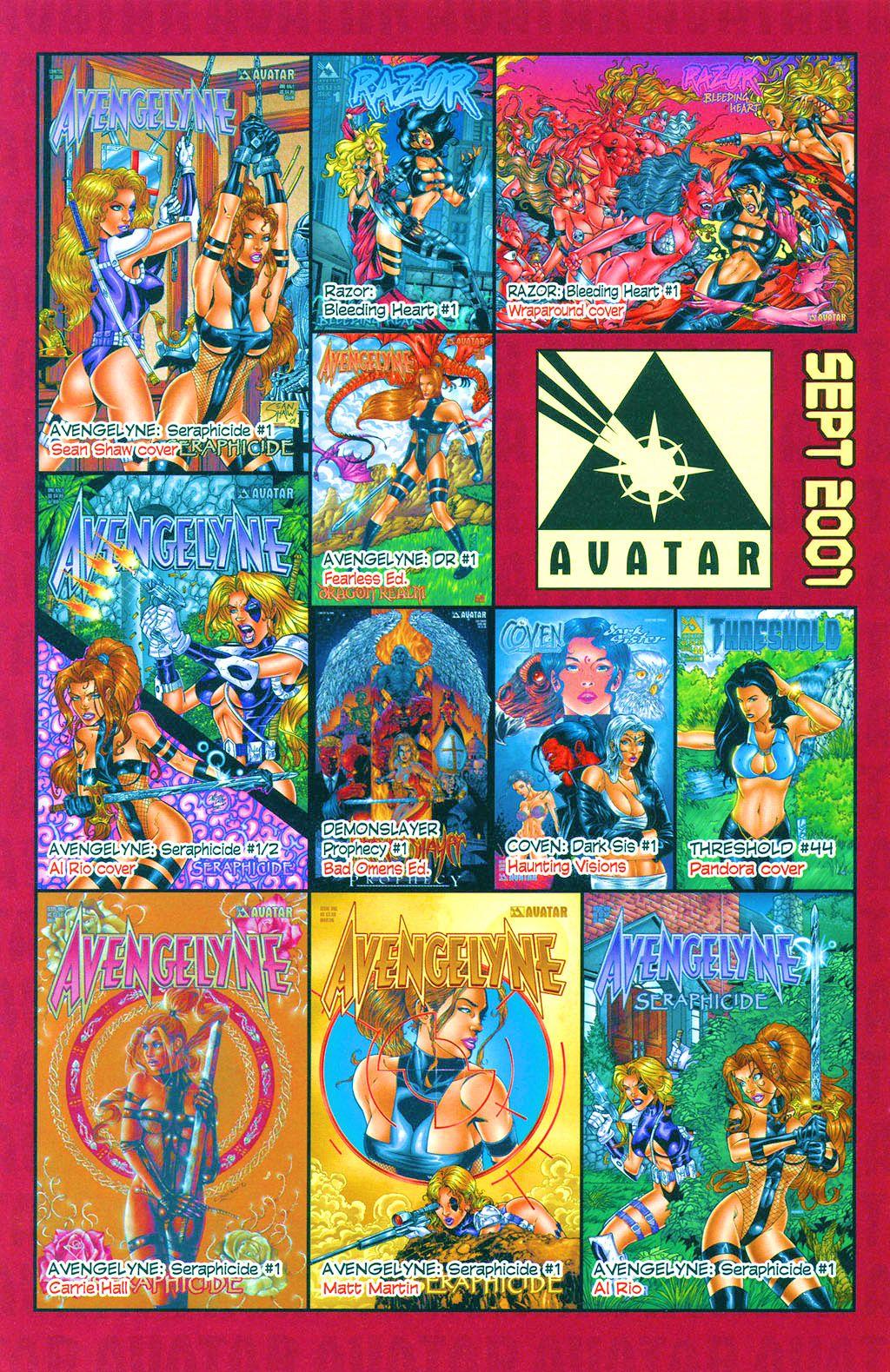 Read online Avengelyne: Dragon Realm comic -  Issue #1 - 31