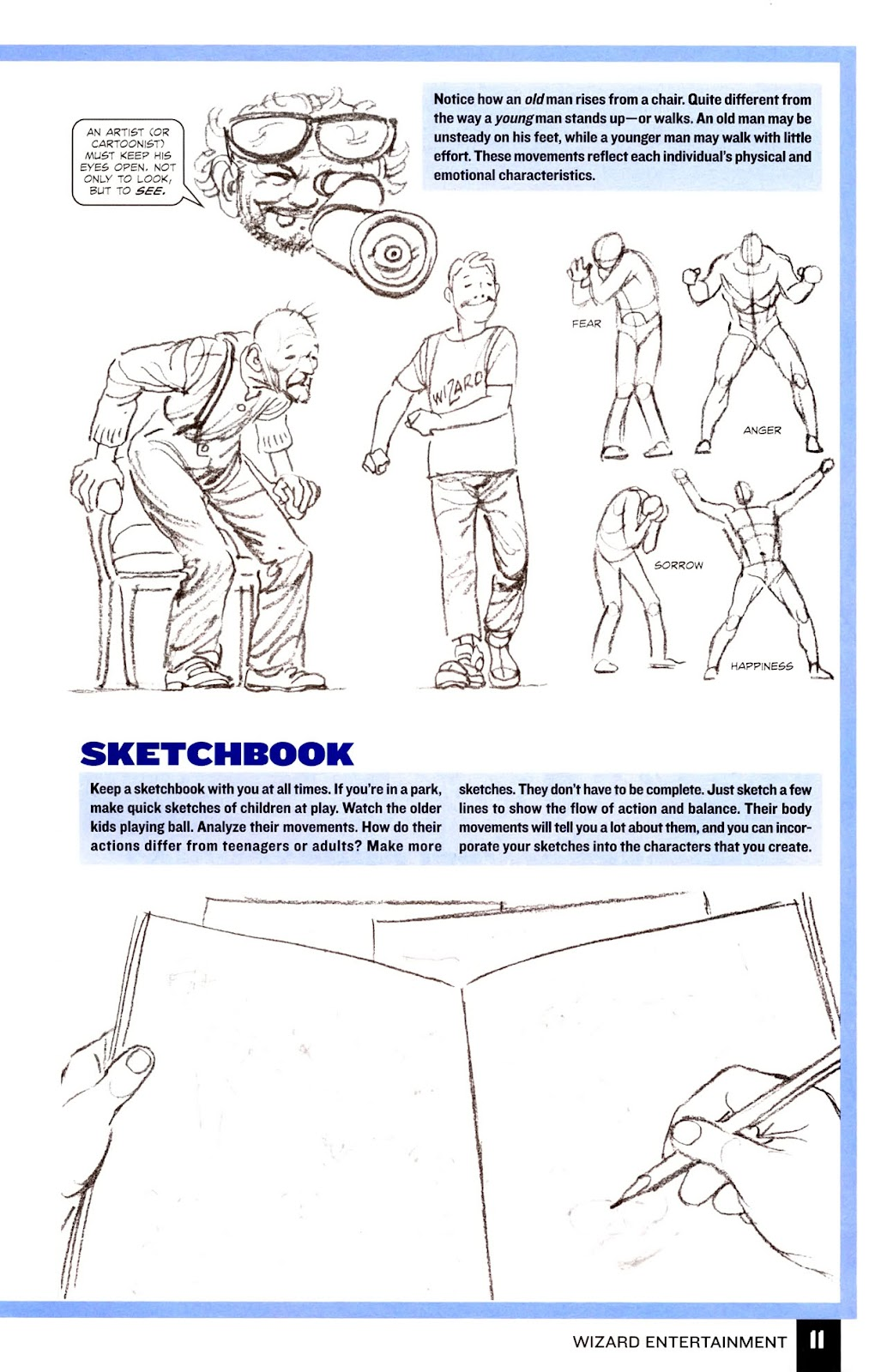 Read online Wizard How to Draw Sampler comic -  Issue # Full - 12