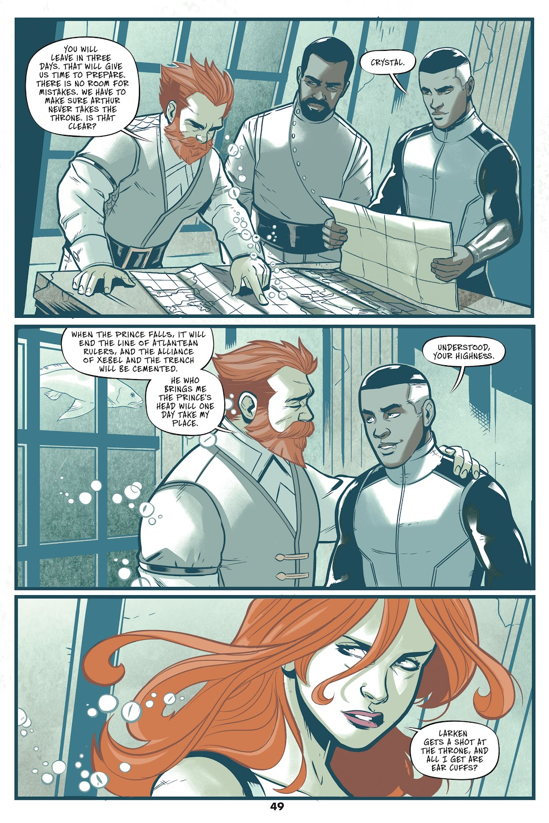 Read online Mera: Tidebreaker comic -  Issue # TPB (Part 1) - 49