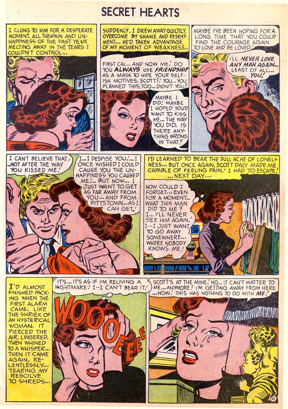 Read online Secret Hearts comic -  Issue #11 - 15