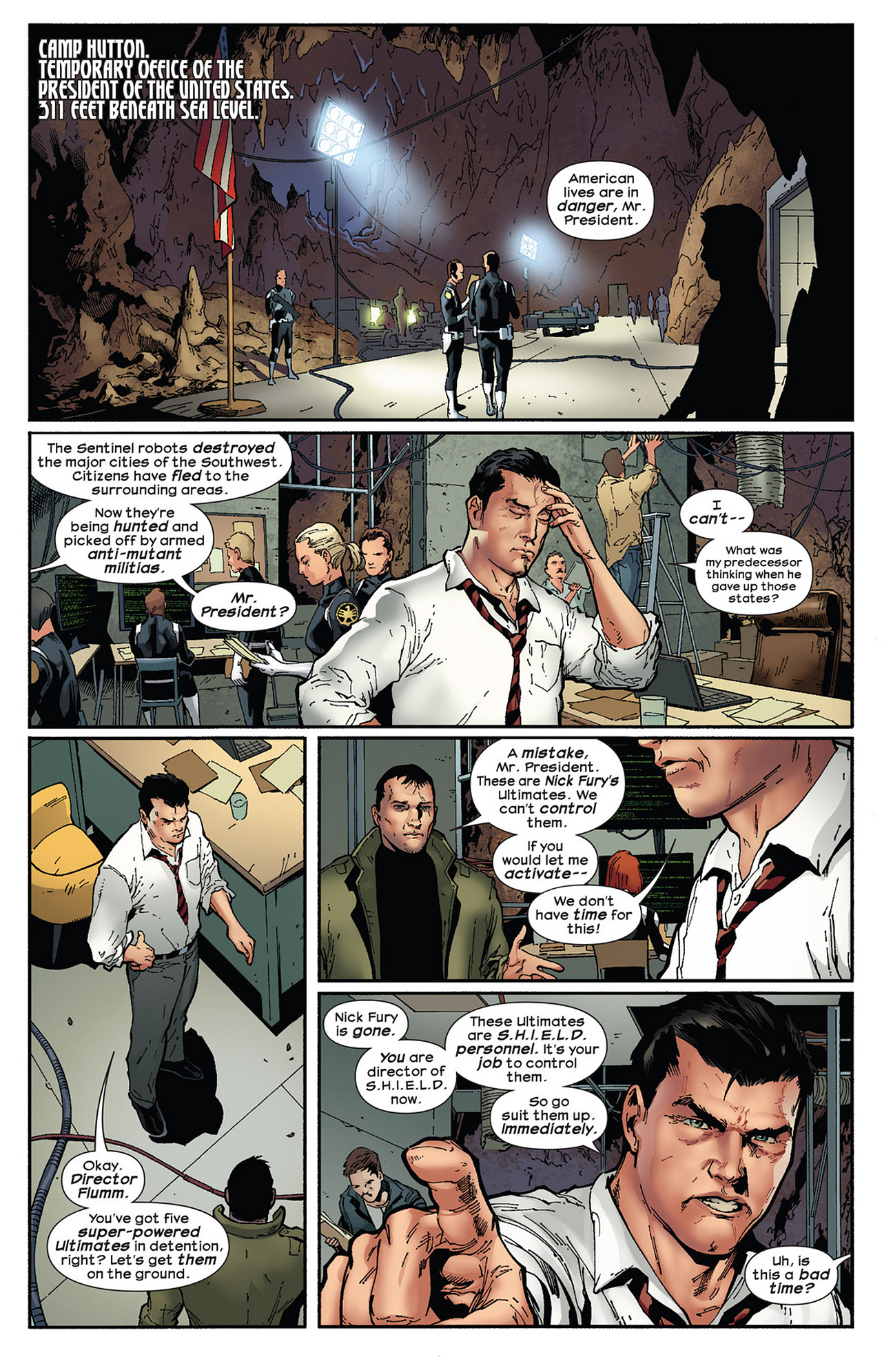 Read online Ultimate Comics Ultimates comic -  Issue #13 - 4