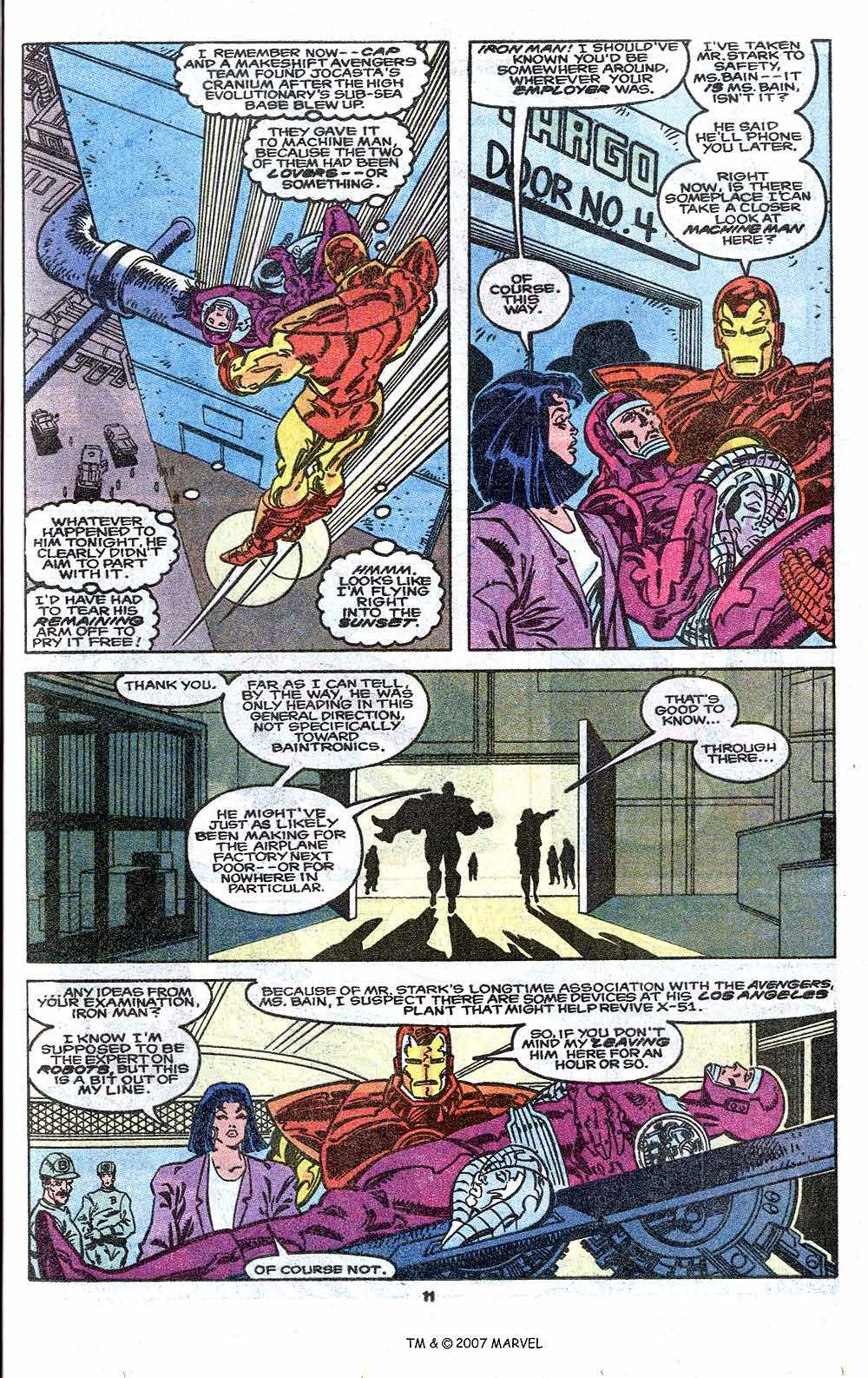 Iron Man Annual issue 11 - Page 13