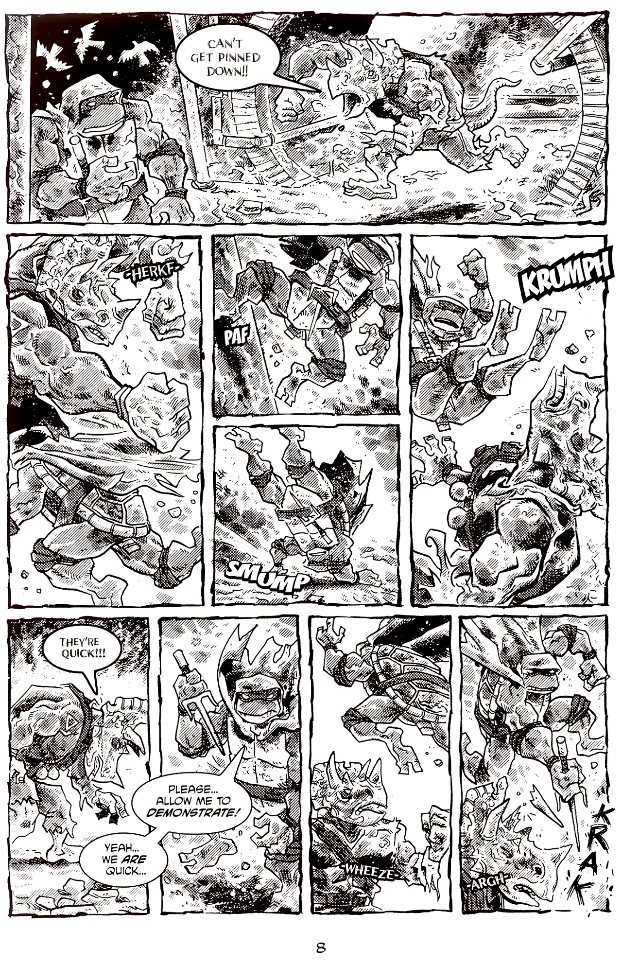 Read online Tales of the TMNT comic -  Issue #70 - 13
