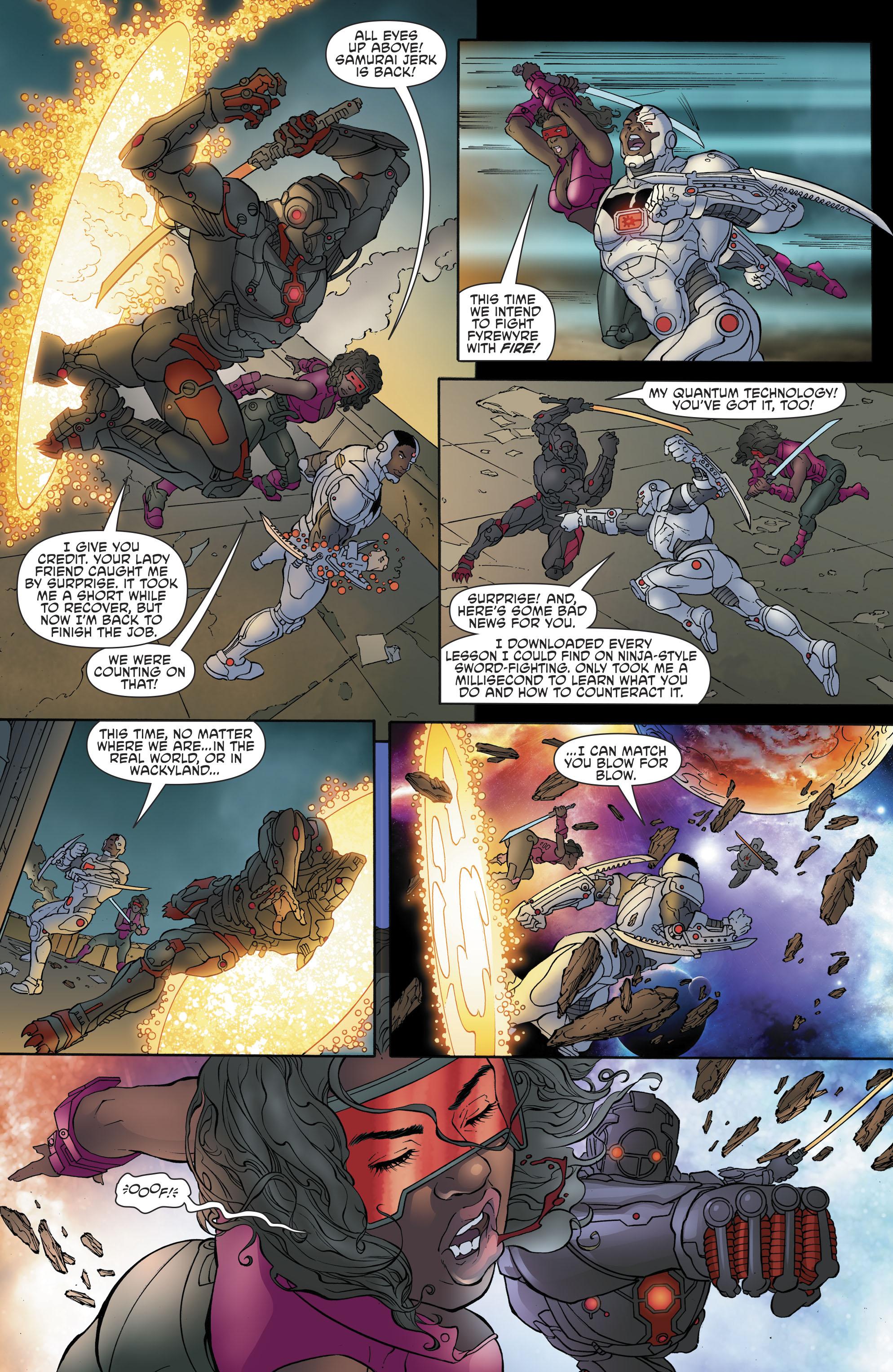 Read online Cyborg (2016) comic -  Issue #13 - 17