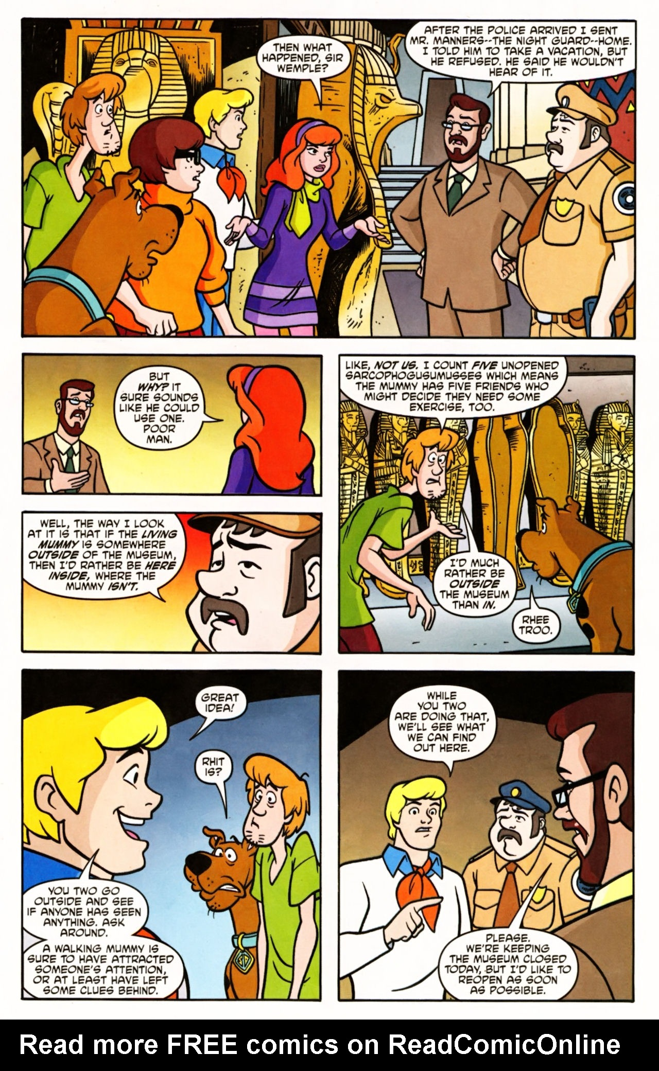 Read online Scooby-Doo (1997) comic -  Issue #156 - 16