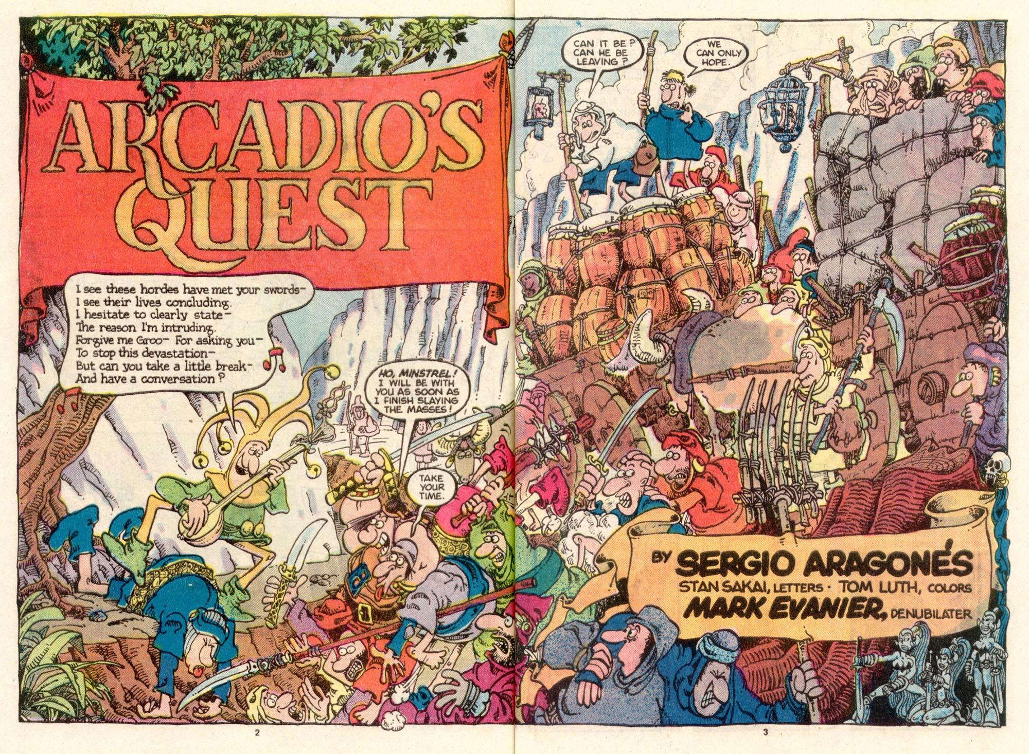 Read online Sergio Aragonés Groo the Wanderer comic -  Issue #24 - 3