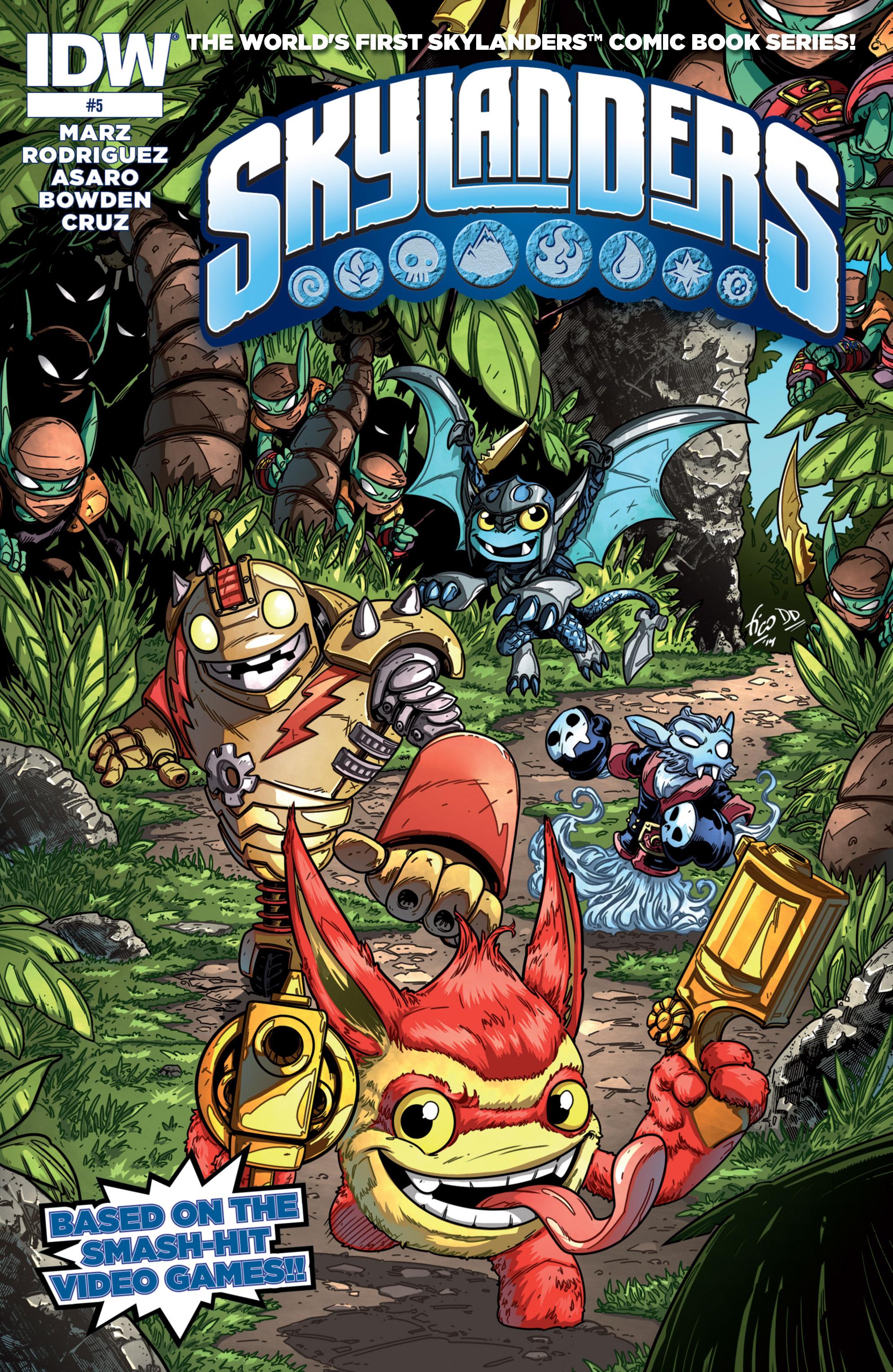 Read online Skylanders comic -  Issue #5 - 1