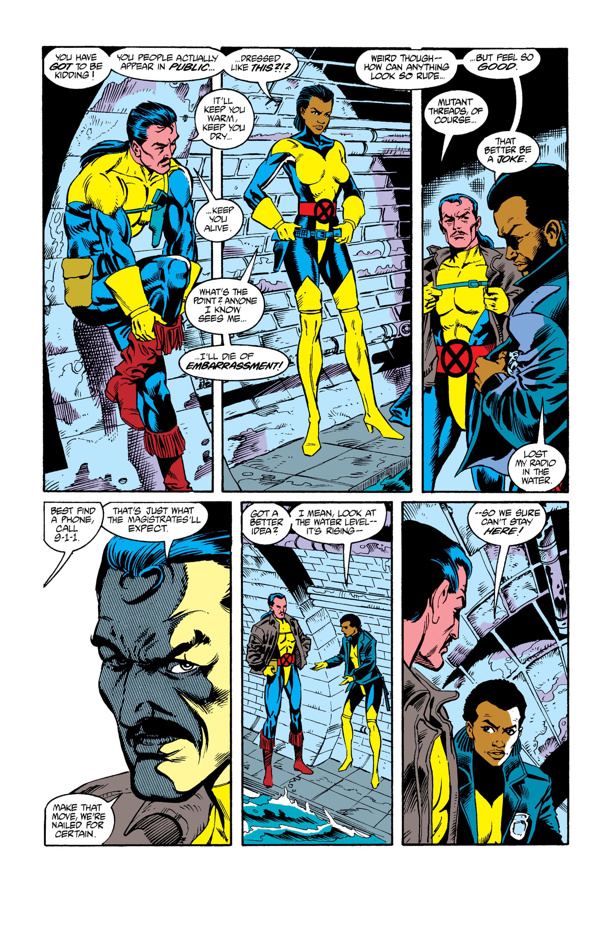 Read online Uncanny X-Men (1963) comic -  Issue #264 - 8