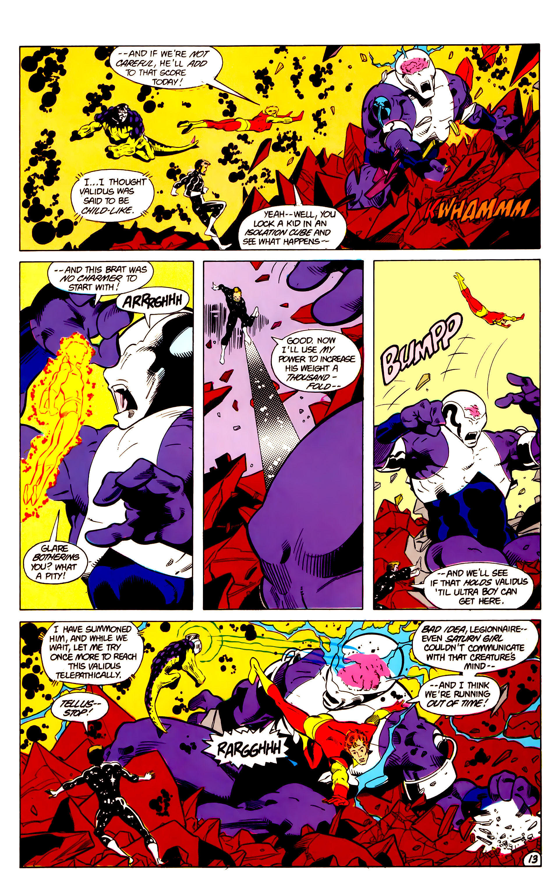 Legion of Super-Heroes (1984) 18 Page 13
