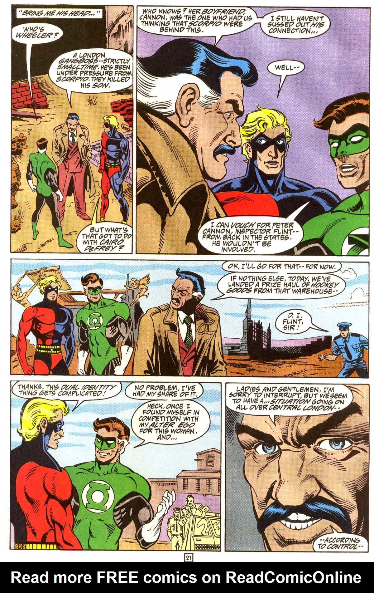 Read online Peter Cannon--Thunderbolt (1992) comic -  Issue #9 - 22