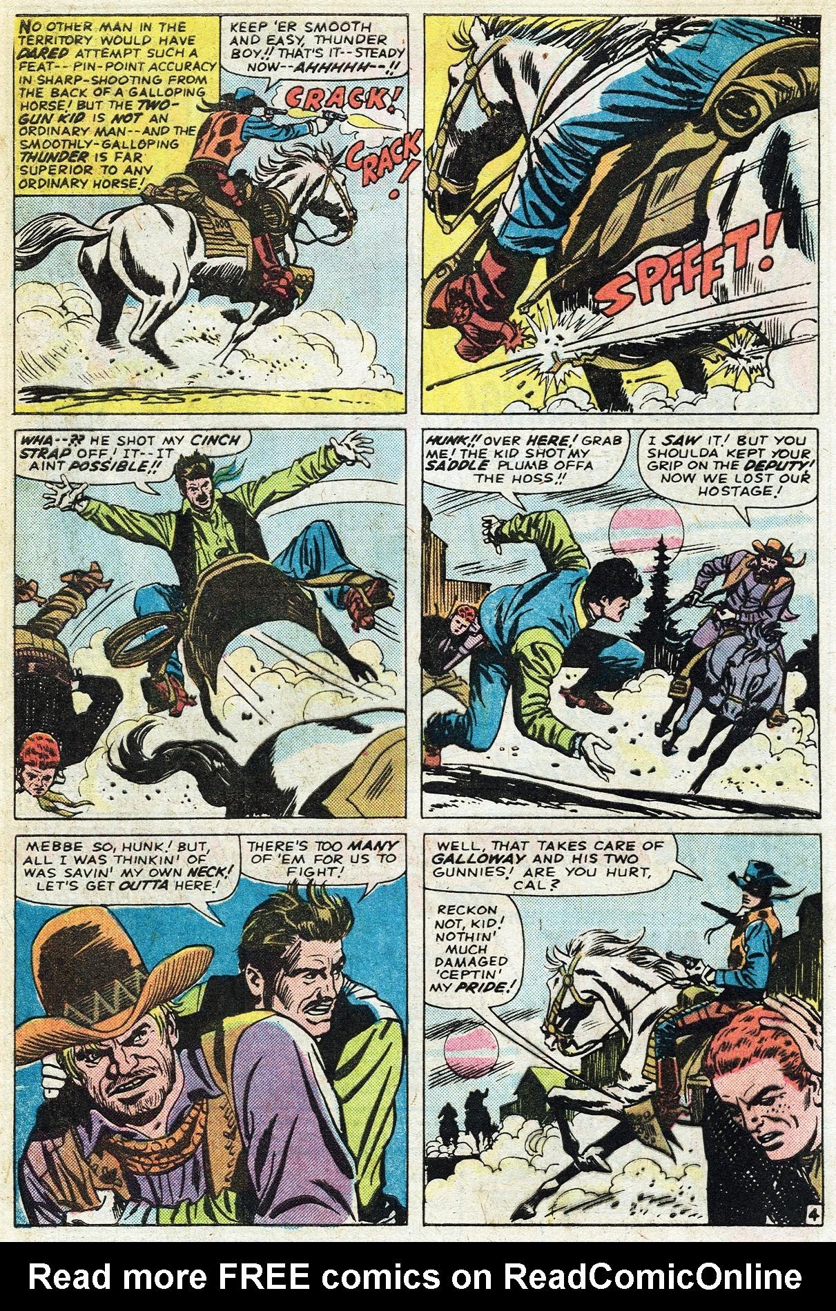 Read online Two-Gun Kid comic -  Issue #122 - 8