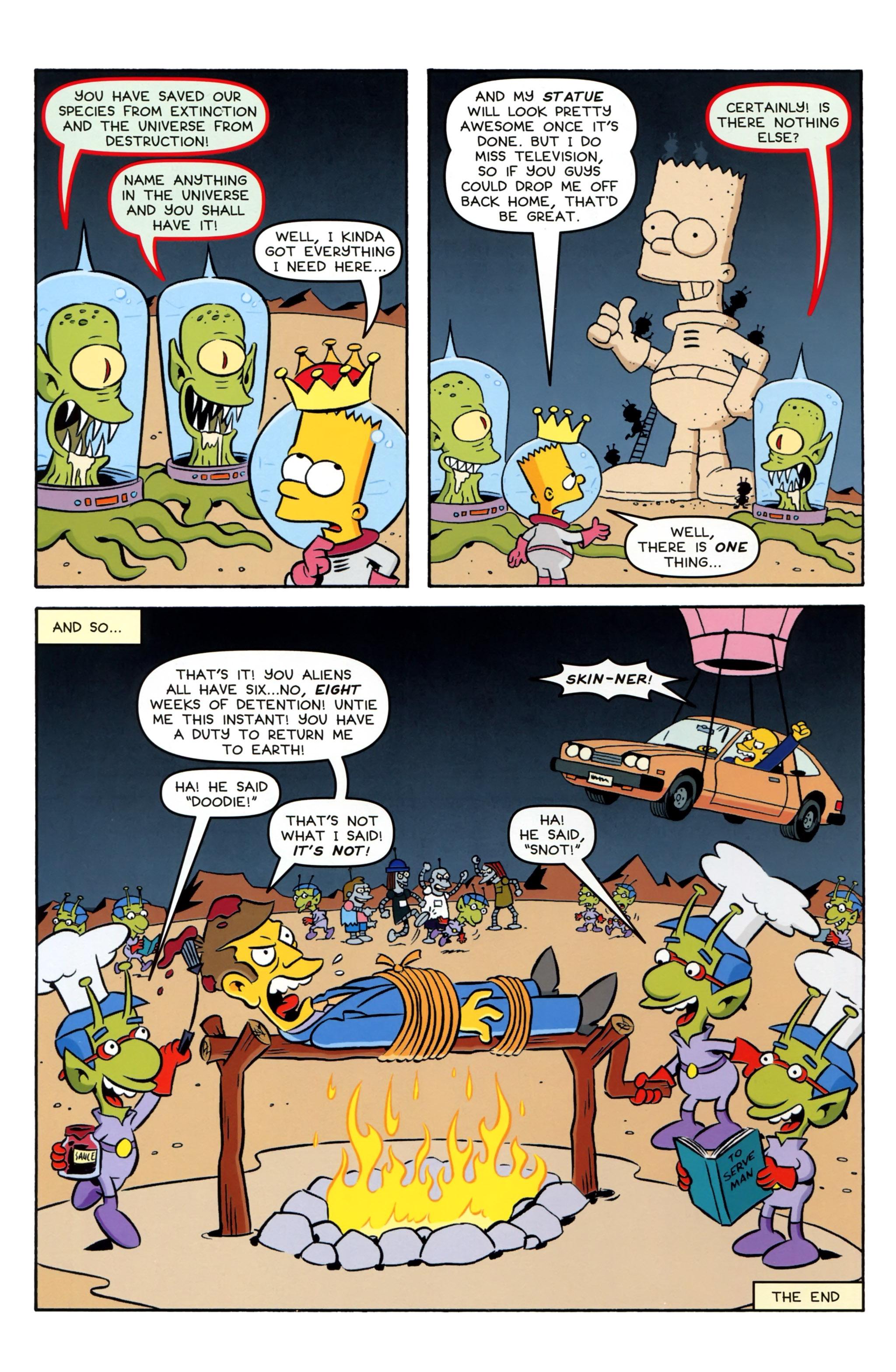 Read online Simpsons Comics Presents Bart Simpson comic -  Issue #97 - 26