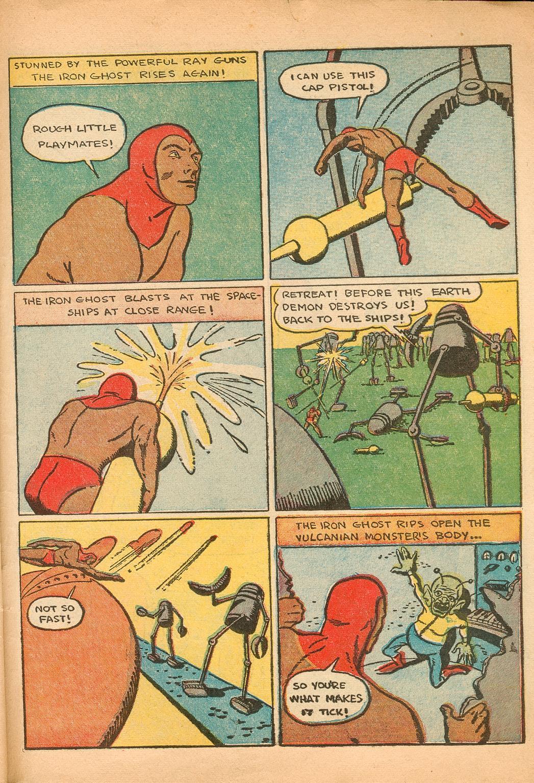 Read online Shadow Comics comic -  Issue #11 - 61