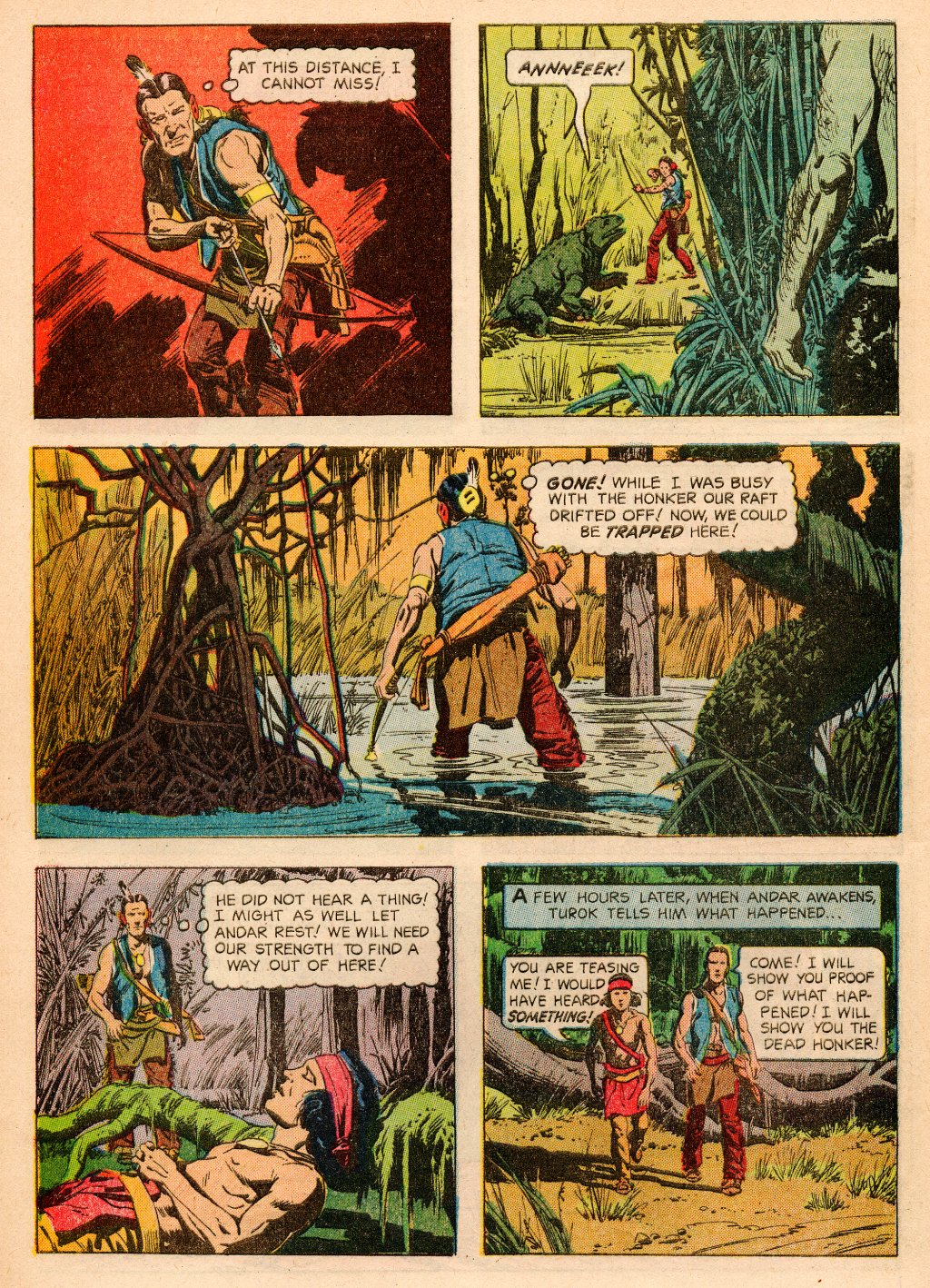 Read online Turok, Son of Stone comic -  Issue #33 - 8