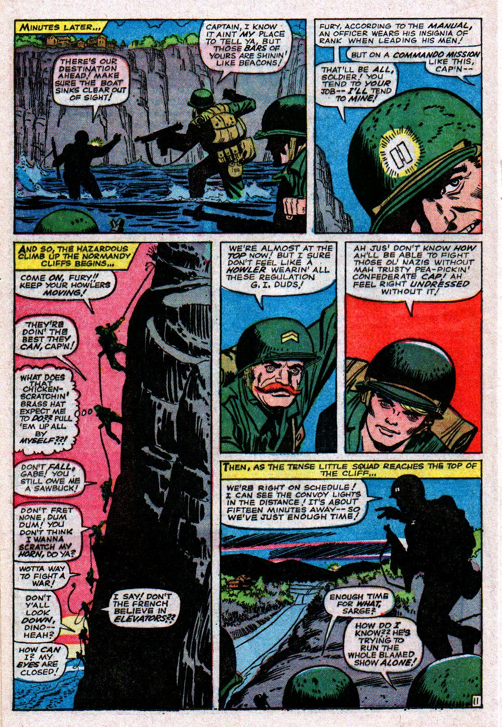Read online Sgt. Fury comic -  Issue #11 - 16