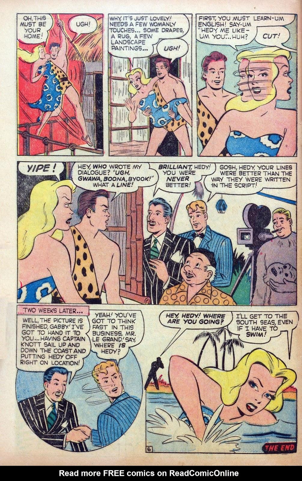 Hedy De Vine Comics issue 31 - Page 48