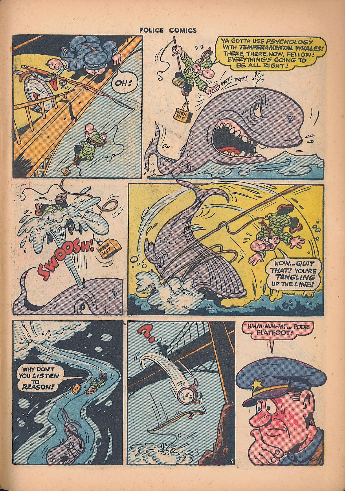 Police Comics issue 44 - Page 47