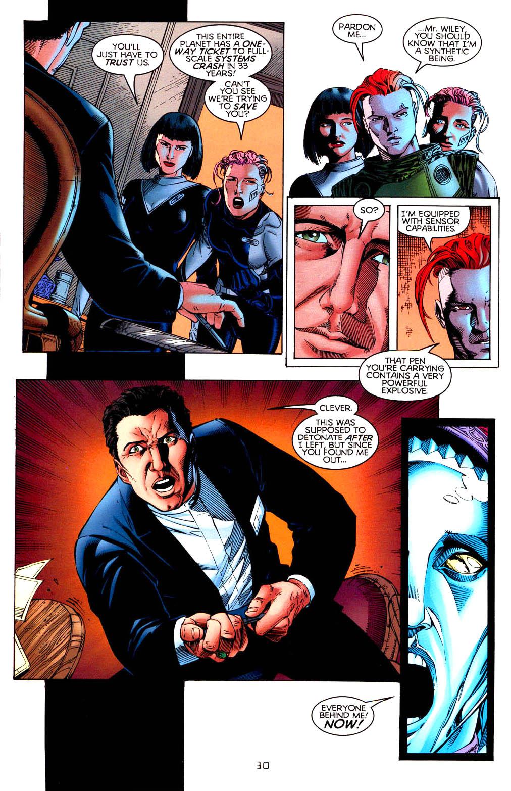 Read online Tangent Comics/ Doom Patrol comic -  Issue # Full - 31