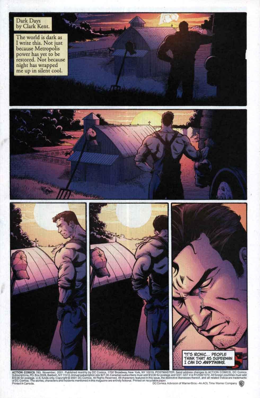 Action Comics (1938) 783 Page 1