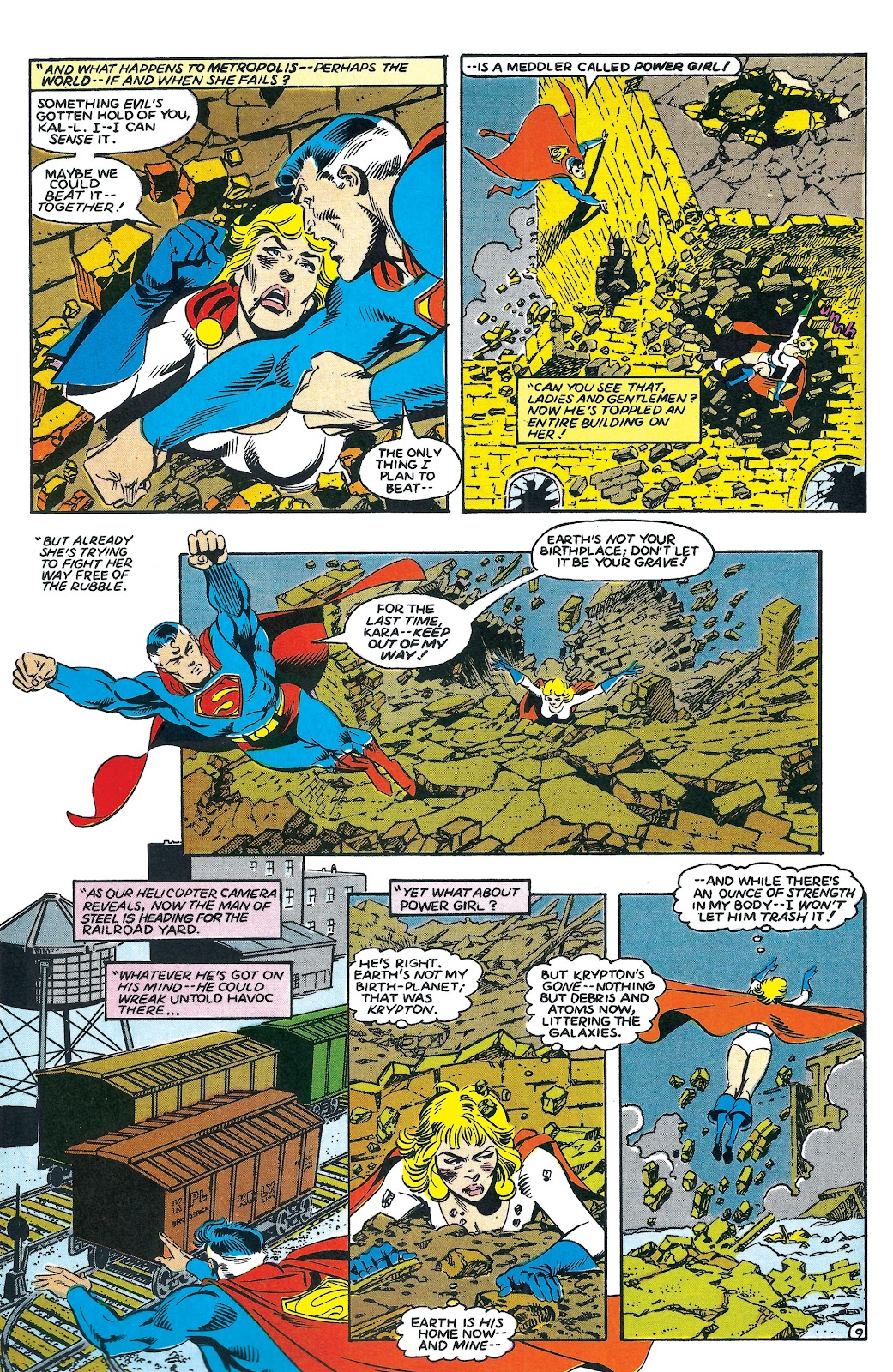 Infinity Inc. (1984) issue 7 - Page 9