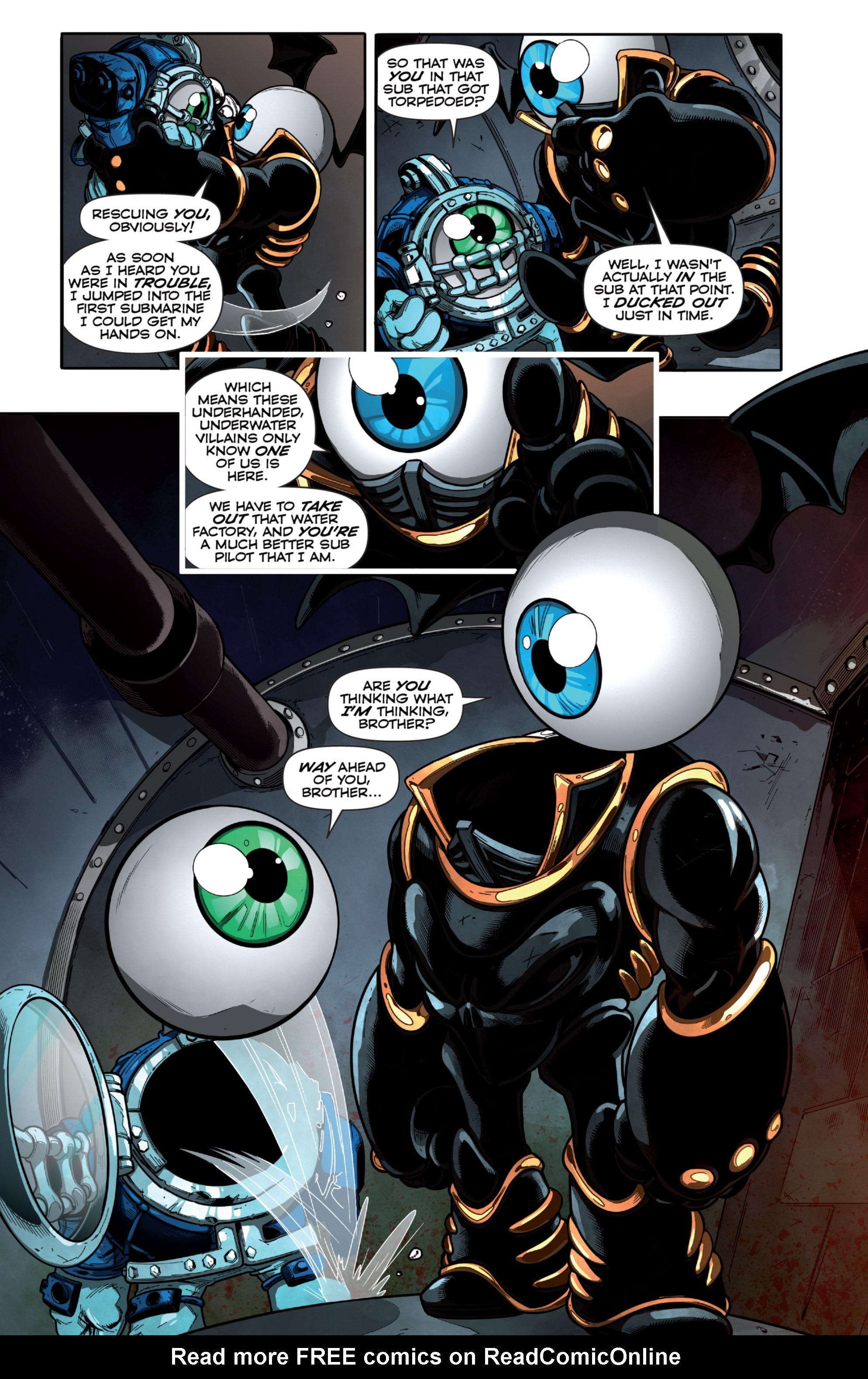 Read online Skylanders Superchargers comic -  Issue #6 - 9