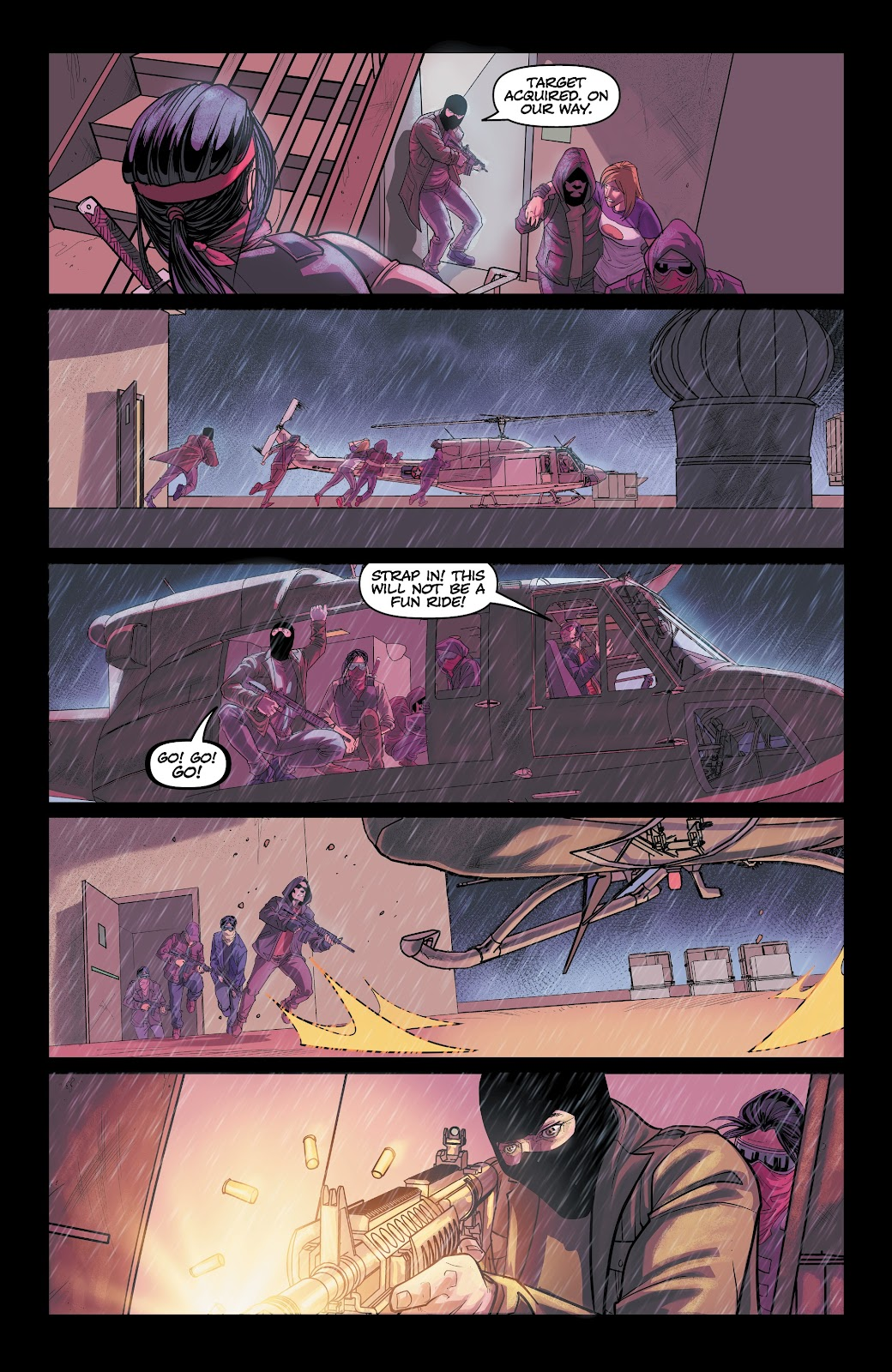Read online Vindication comic -  Issue #2 - 28