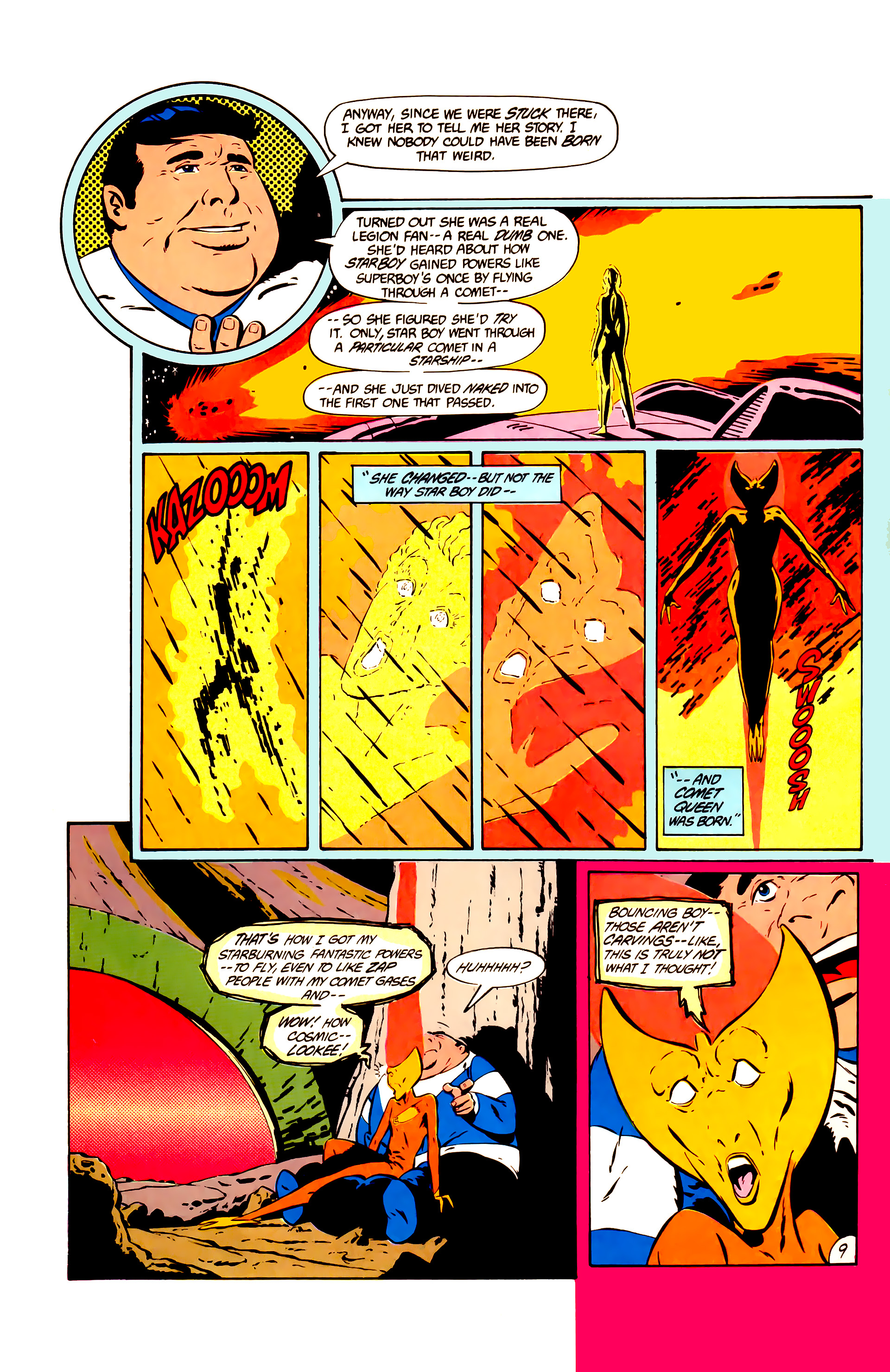 Legion of Super-Heroes (1984) 11 Page 22