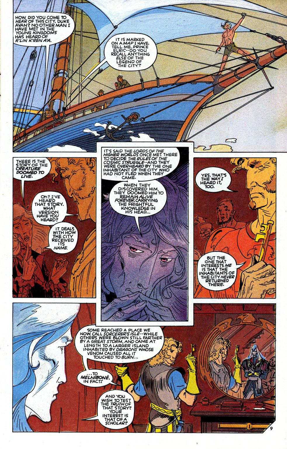 Read online Elric: Sailor on the Seas of Fate comic -  Issue #6 - 11